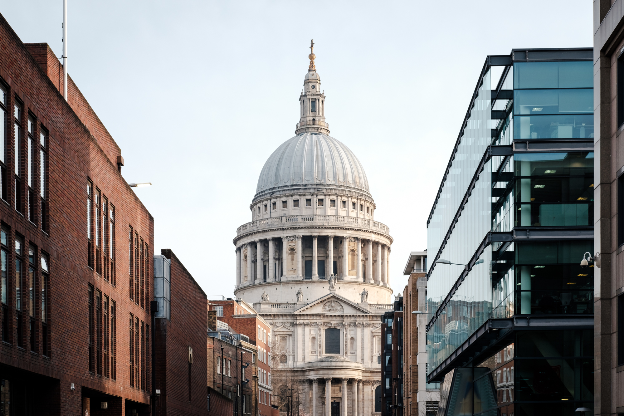 London Chrome photo of St Paul's Cathedral by Trevor Sherwin