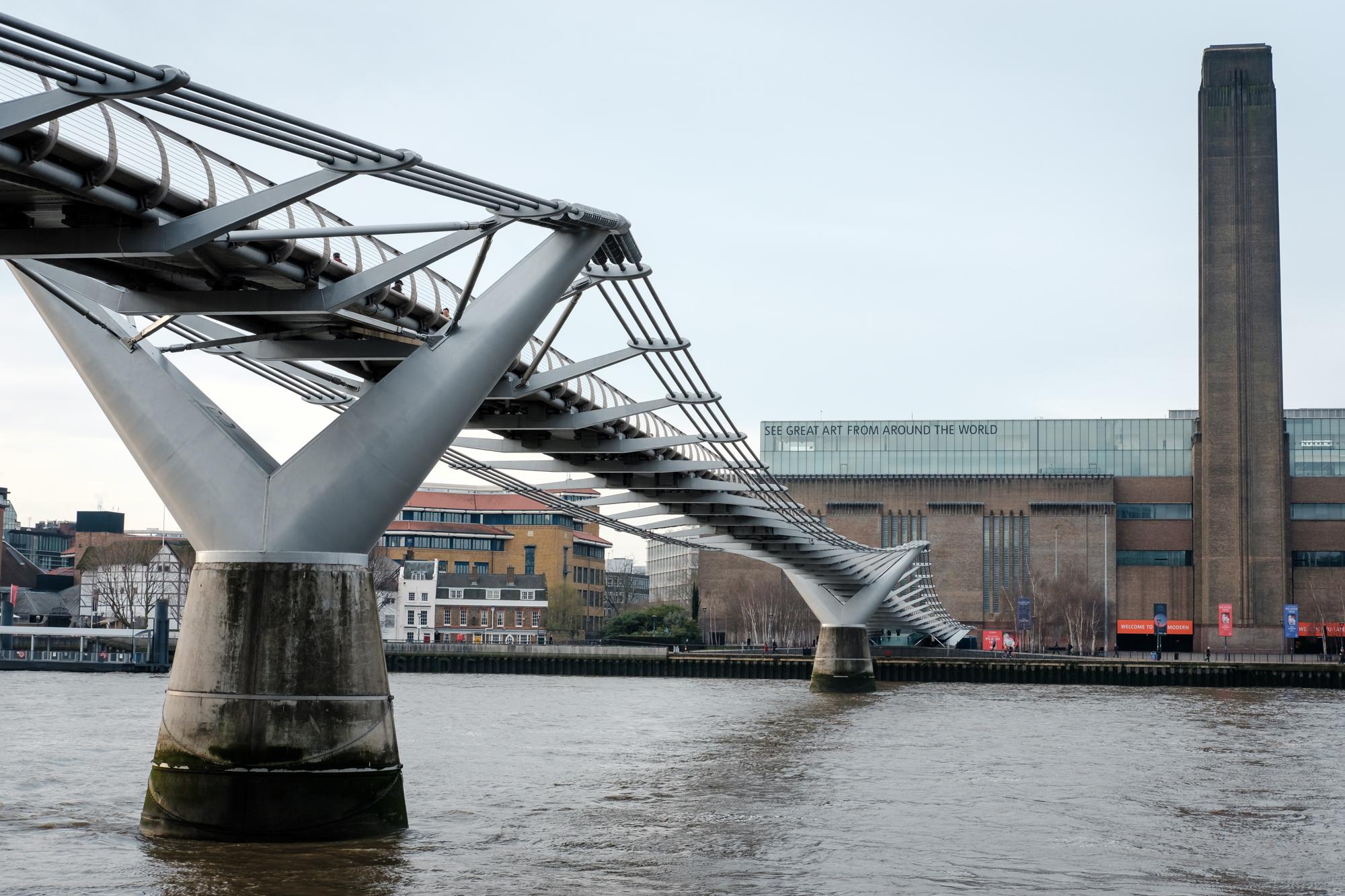 London Chrome photo of The Tate Modern by Trevor Sherwin