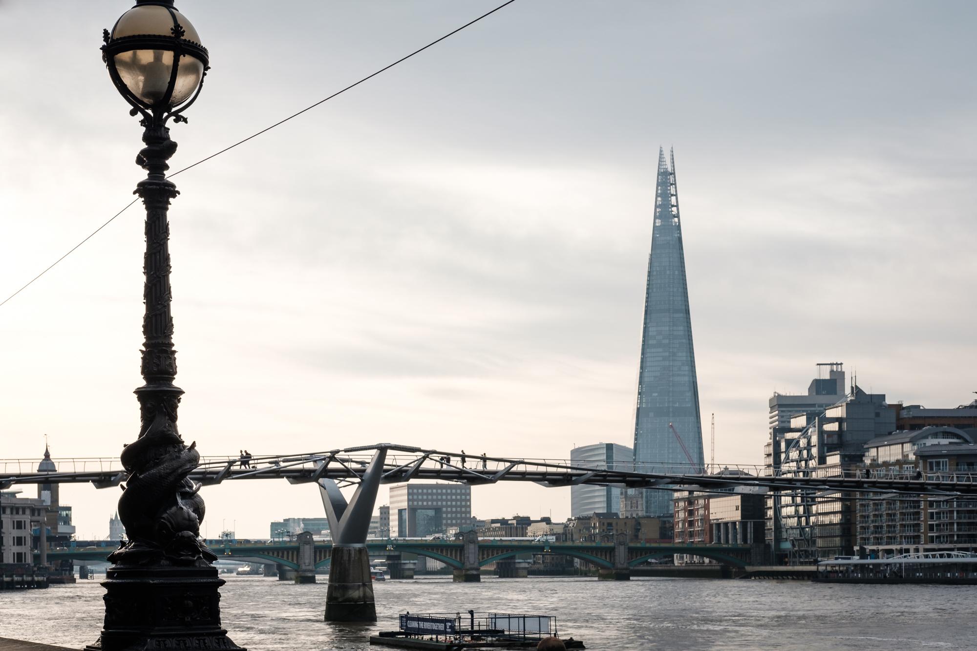 London Chrome photo under the Millennium Bridge by Trevor Sherwin