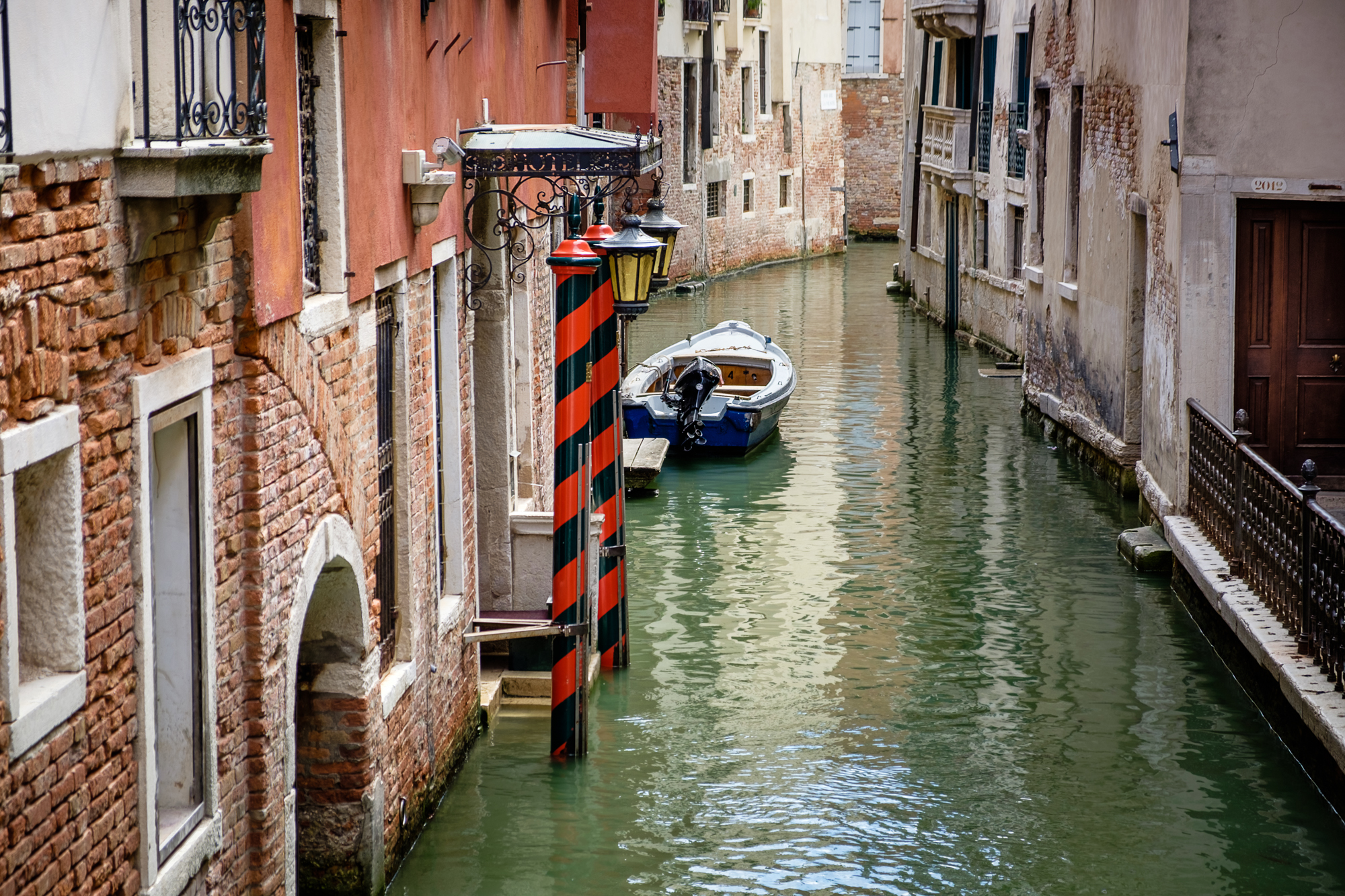 Photo of a canal in Venice taken by Trevor Sherwin