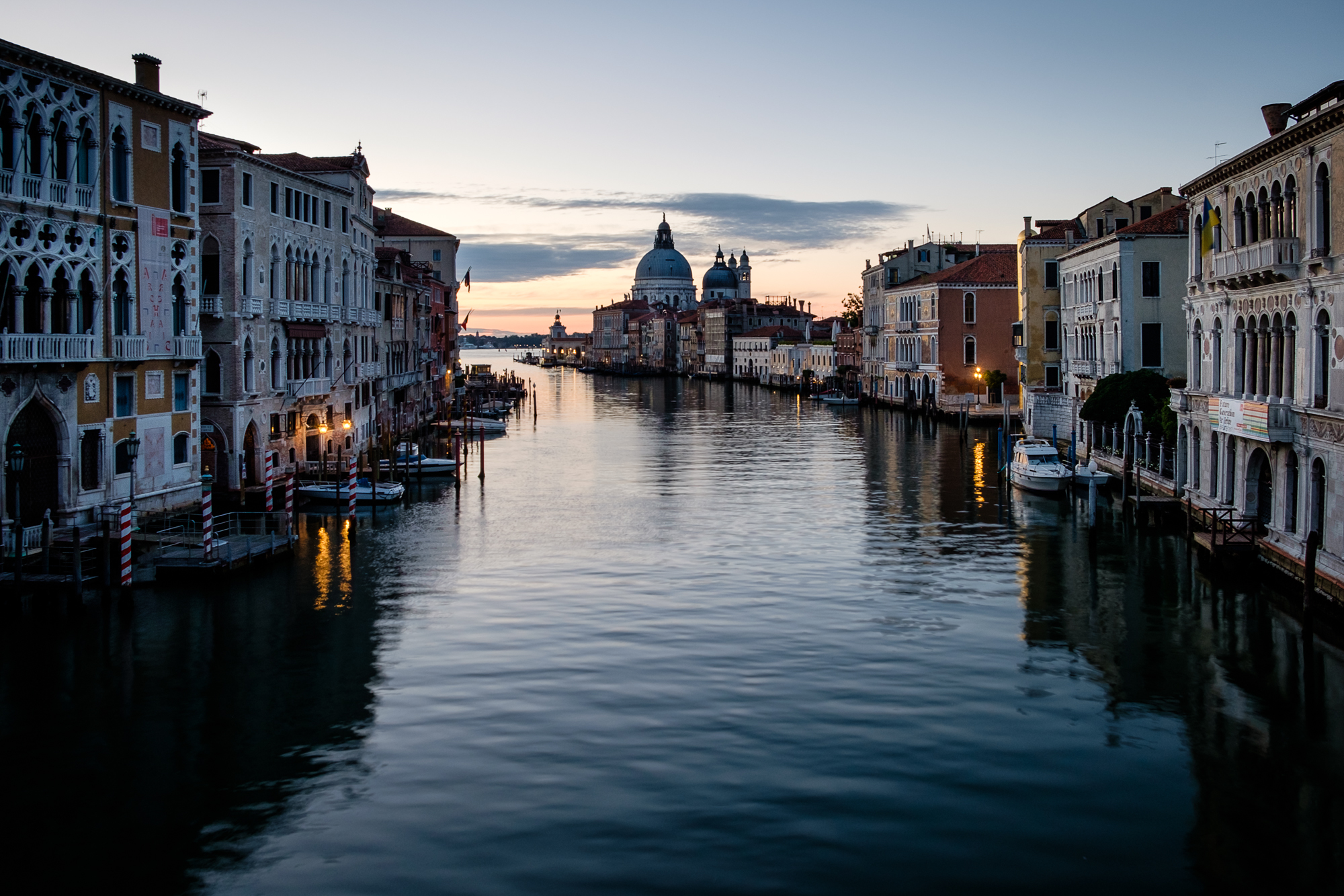 Photo of the Grand Canal and the Basilica in Venice taken by Trevor Sherwin