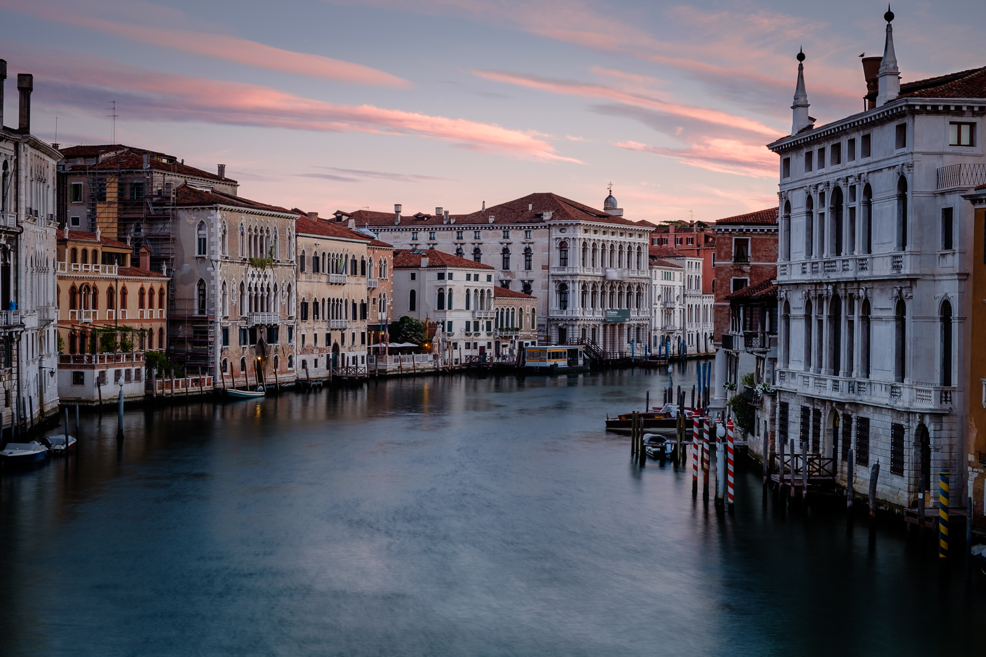 Photo taken at Sunrise on the Grand Canal by Trevor Sherwin
