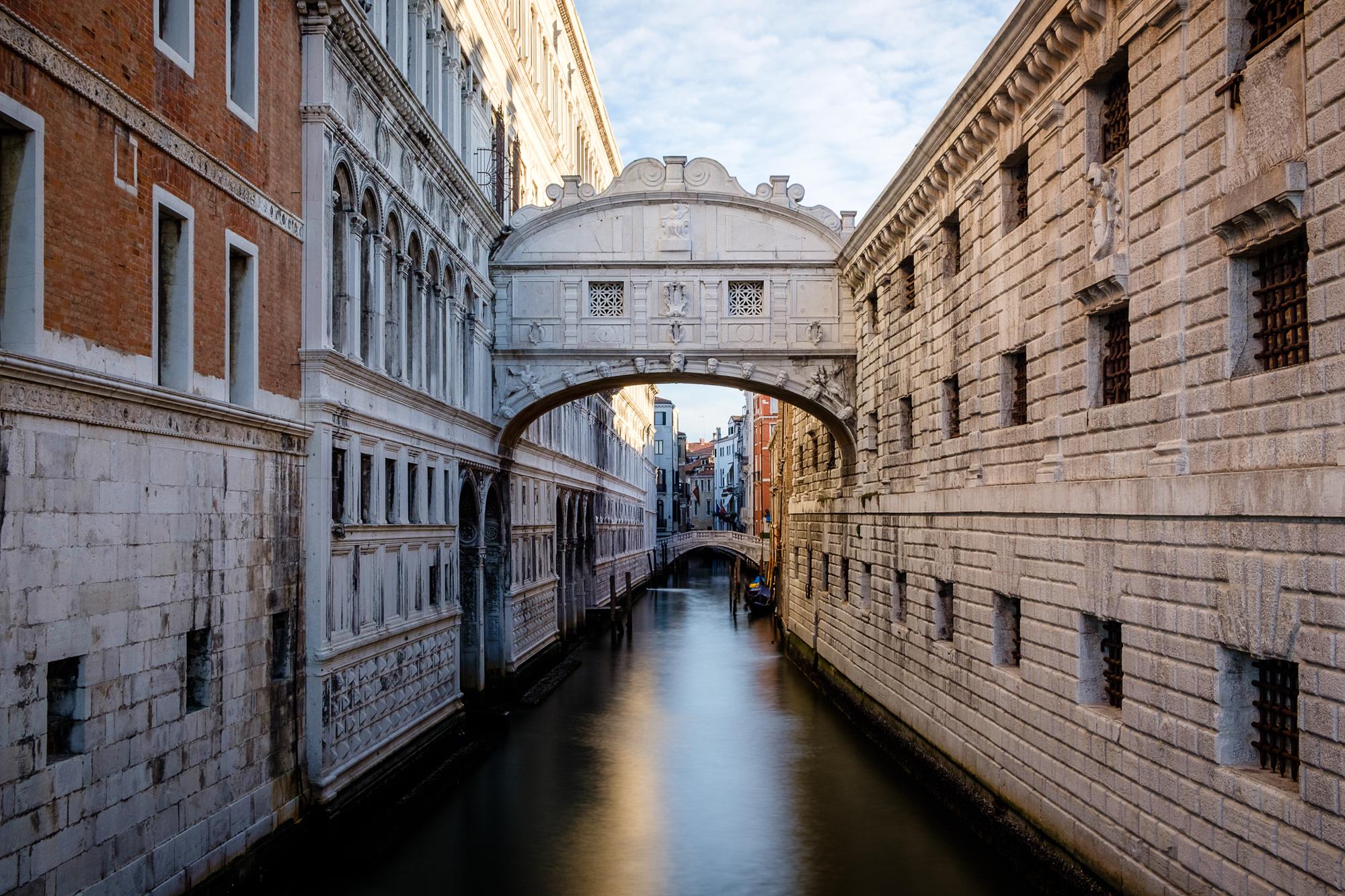 Photo of the Bridge of Sighs at dawn in Venice taken by Trevor Sherwin