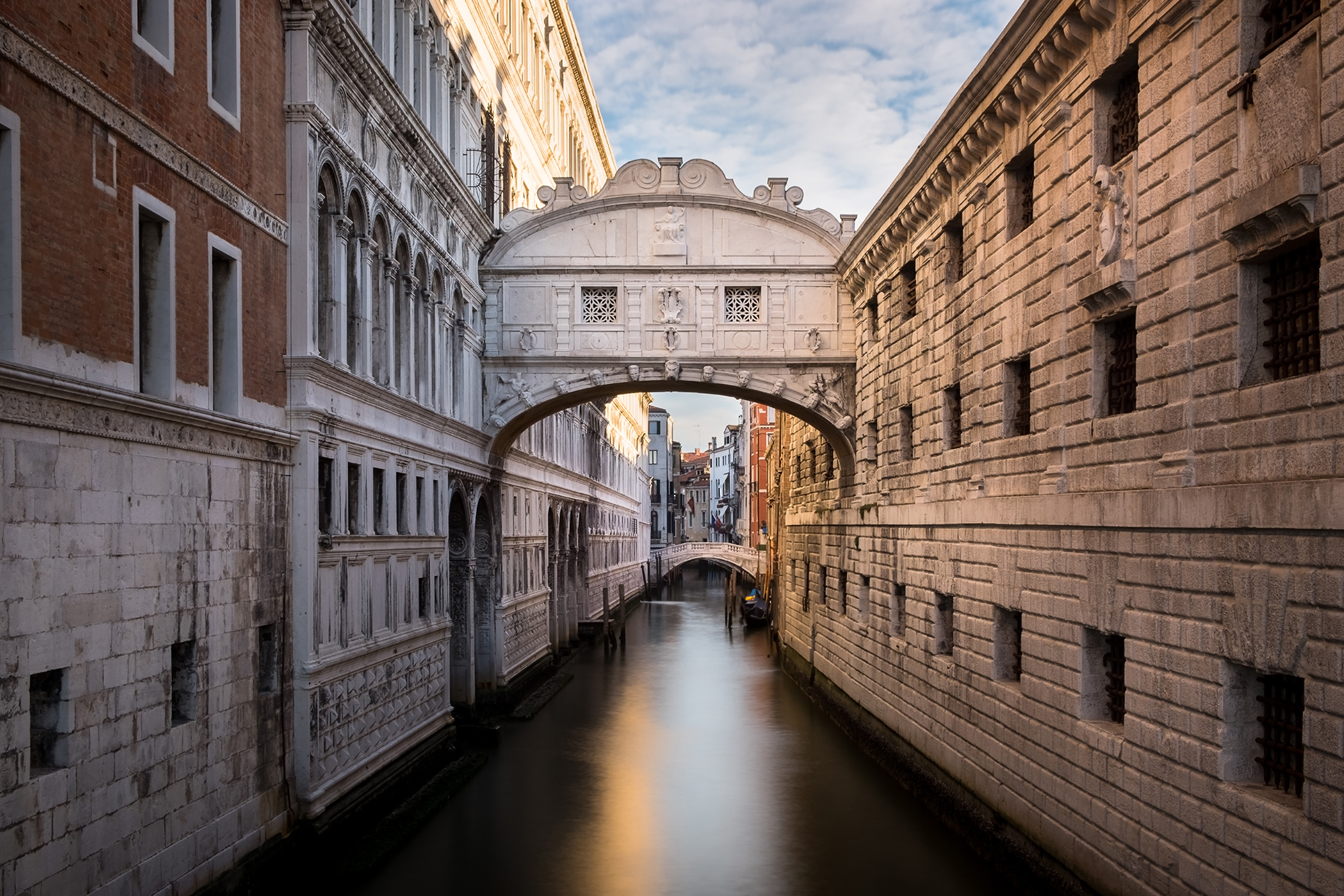 A photo of the Bridge of Sighs taken in the morning by Trevor Sherwin