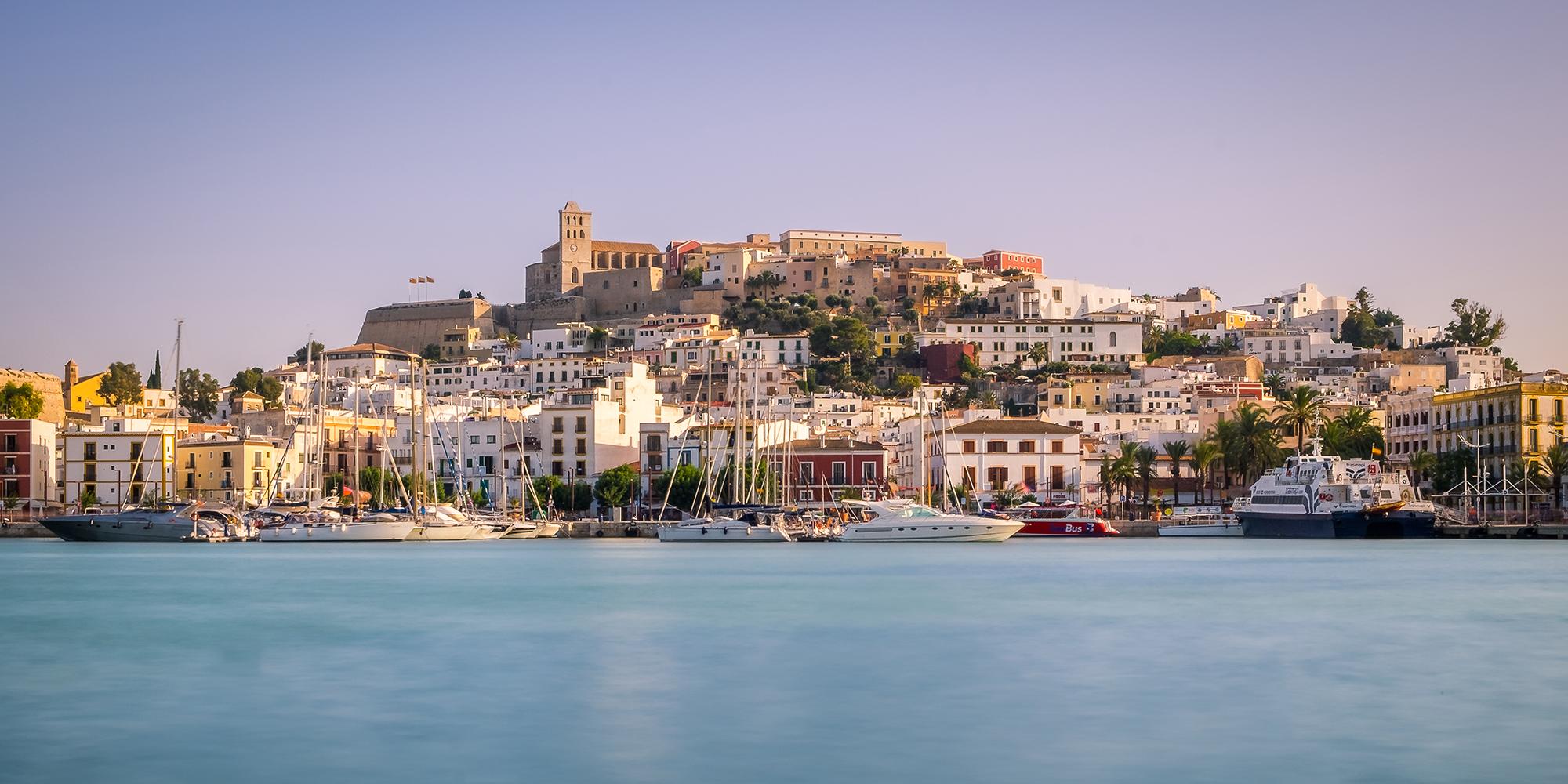 Sunset in Ibiza Town, Ibiza