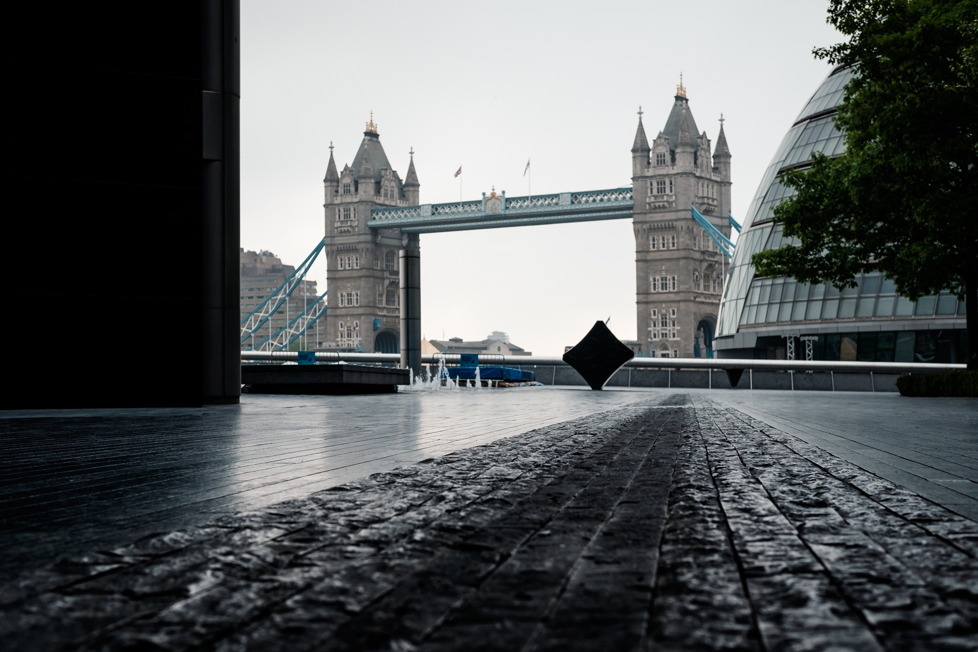 Photo of Tower Bridge in London by Trevor Sherwin