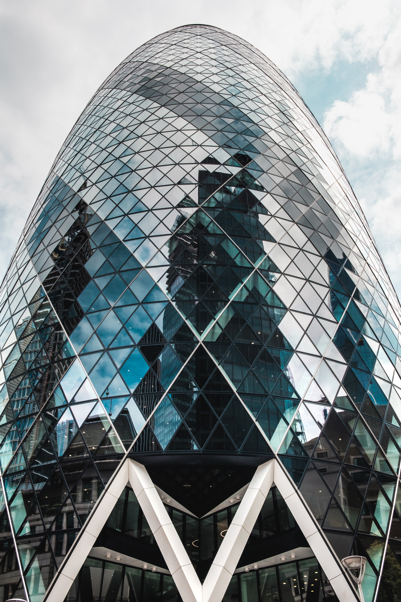 Photo of The Gherkin in London by Trevor Sherwin
