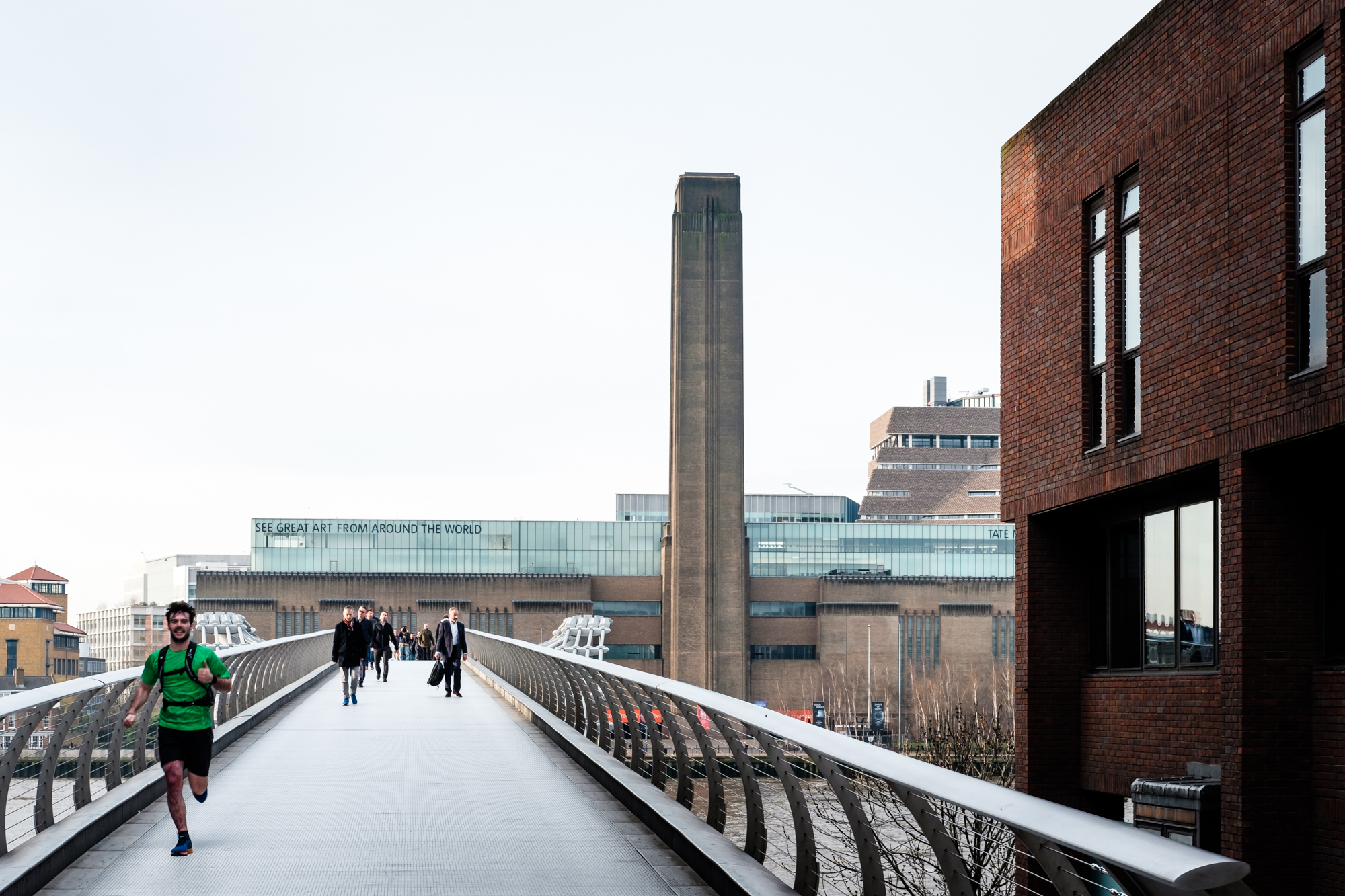 Photo of Tate Modern in London by Trevor Sherwin