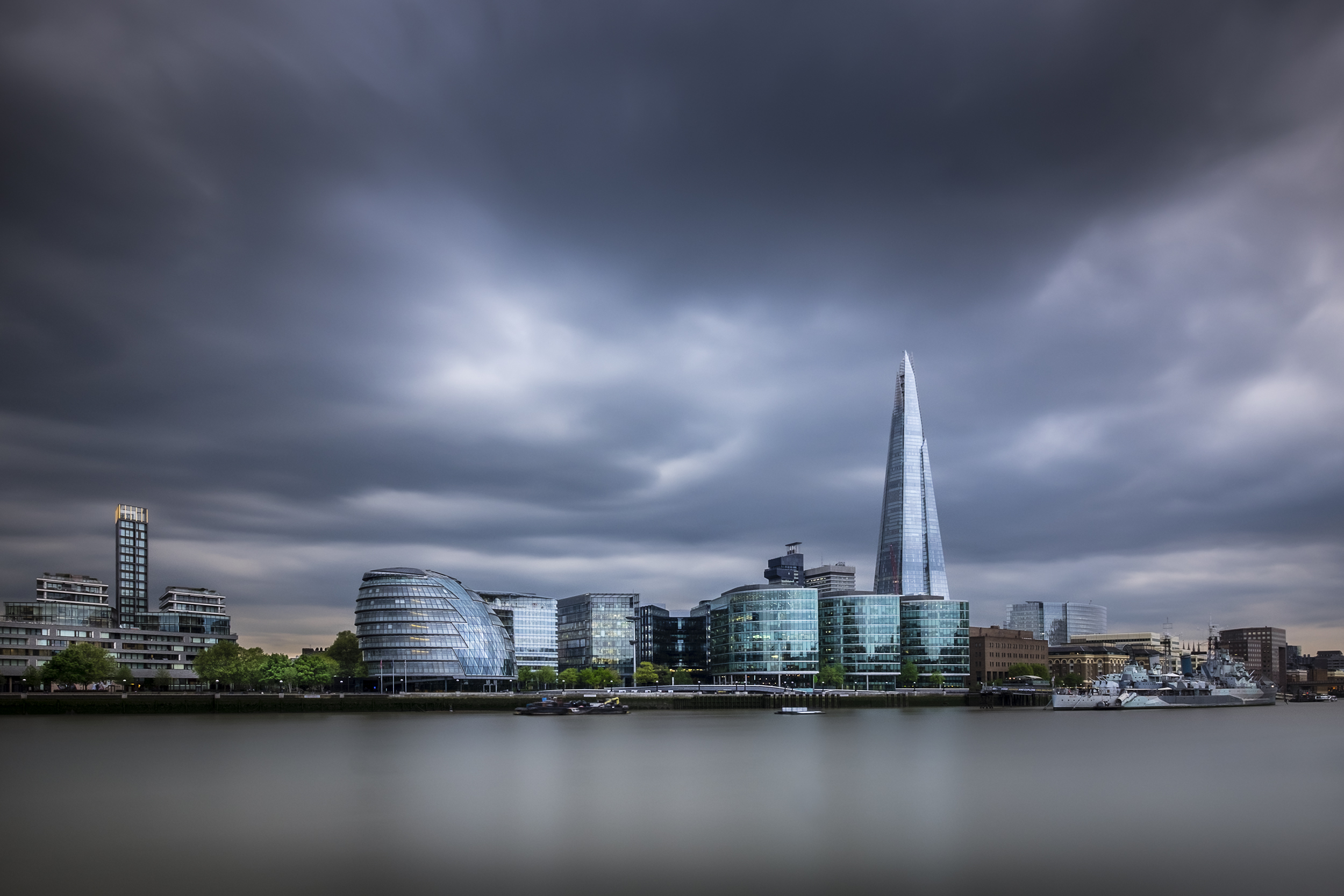 A photo of the Shard in London by Trevor Sherwin