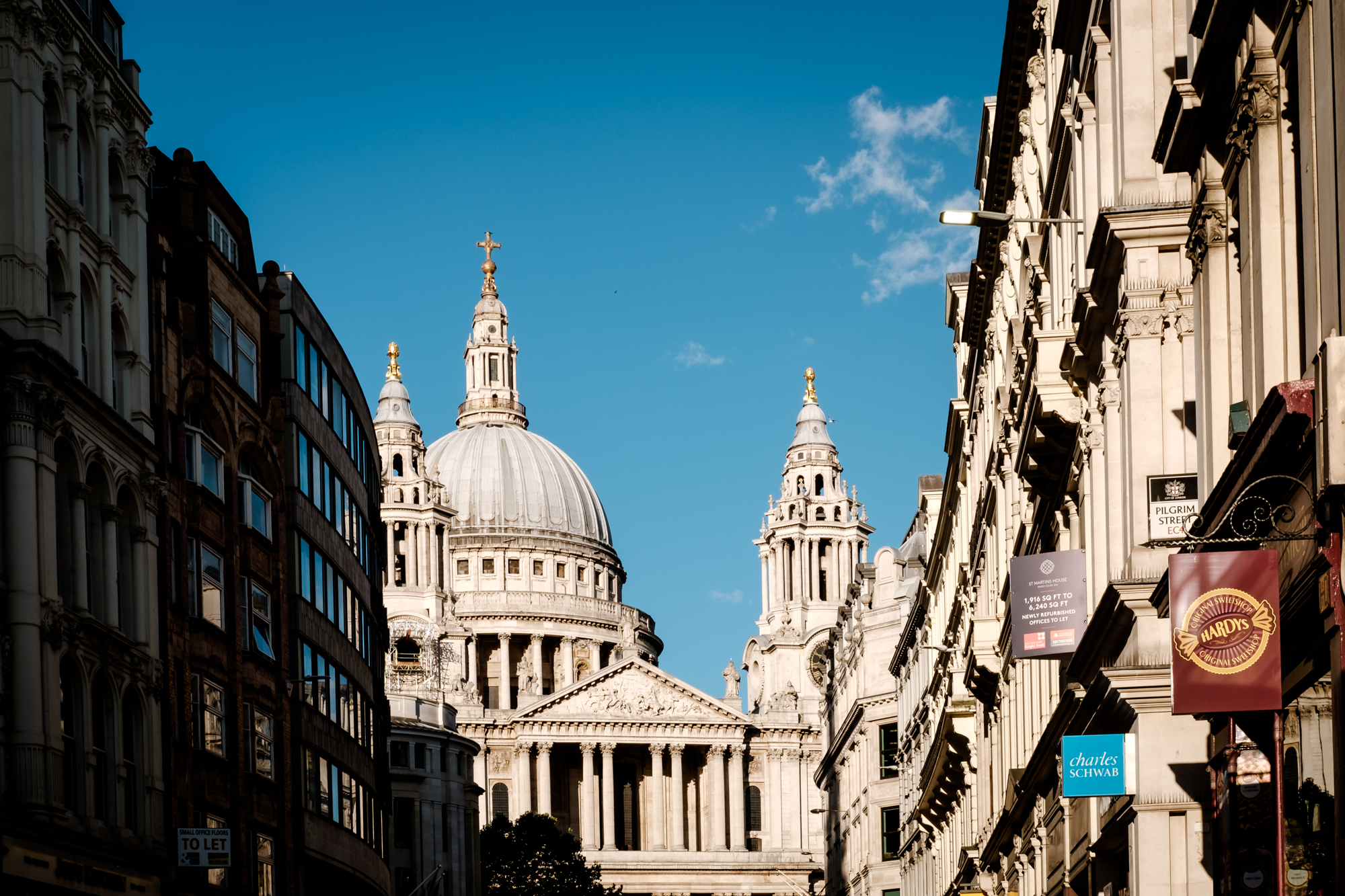 A photo of St Pauls Cathedral in London Chrome by Trevor Sherwin