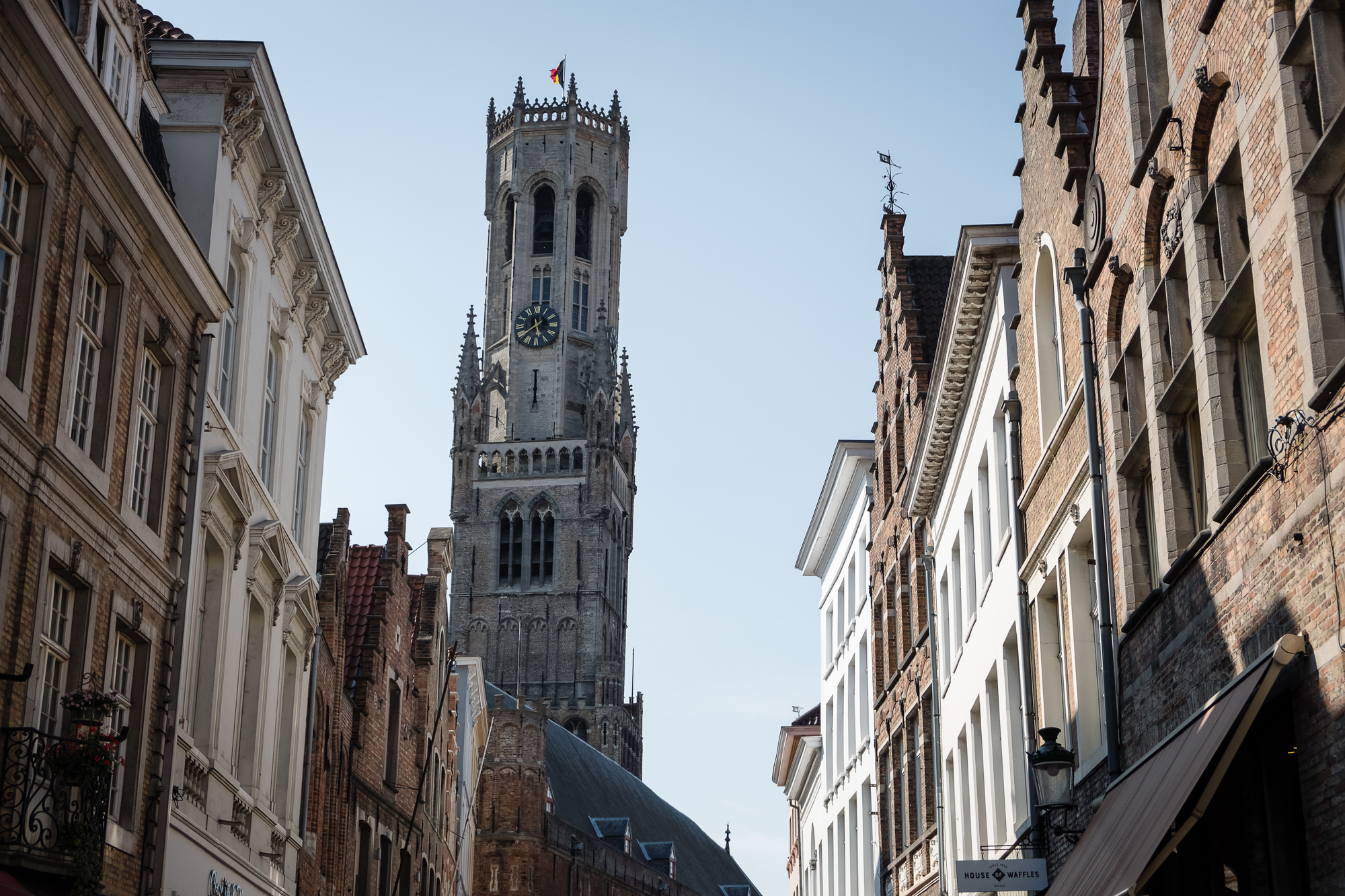 A photo of the Belfry Tower in Bruges , Belgium taken by Trevor Sherwin