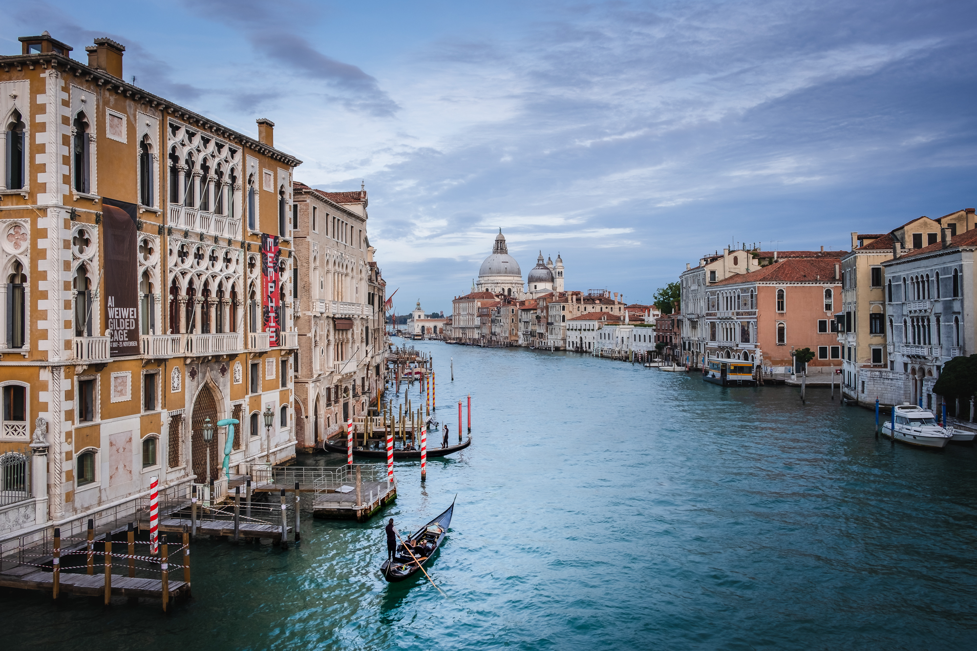 A photo of the Grand Canal in Venice, Italy taken by Trevor Sherwin
