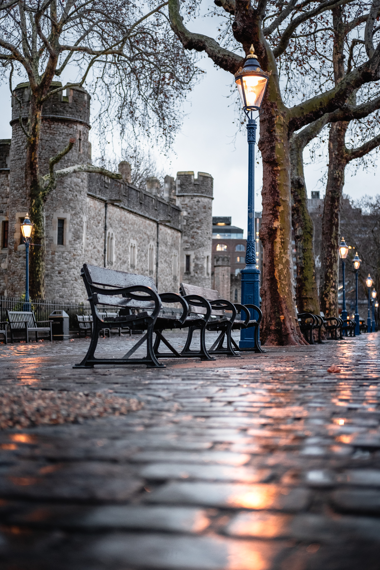 A photo of Street Lamps at the Tower of London by Trevor Sherwin Photography