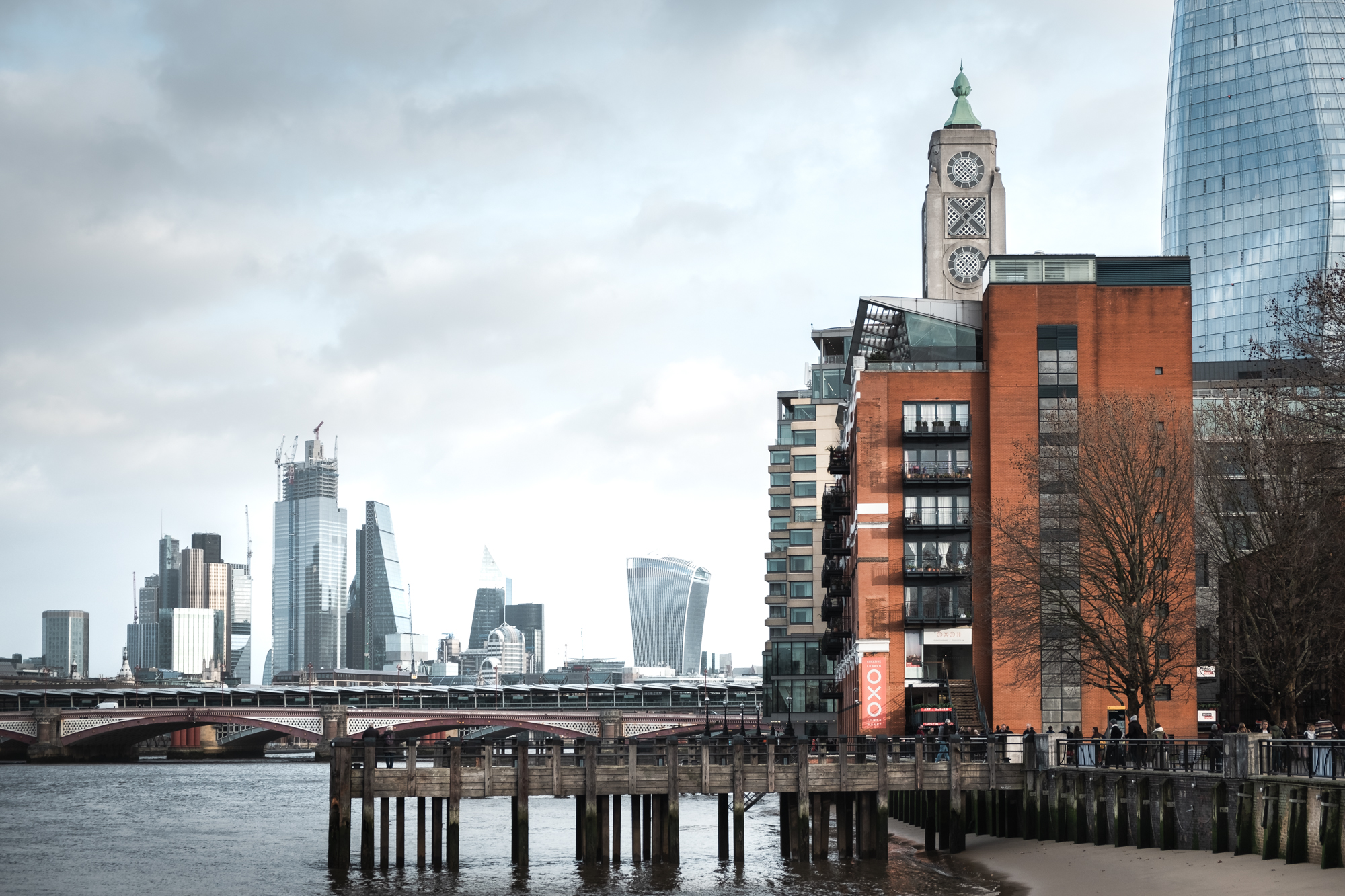 A photo of The Oxo Building in London by Trevor Sherwin Photography