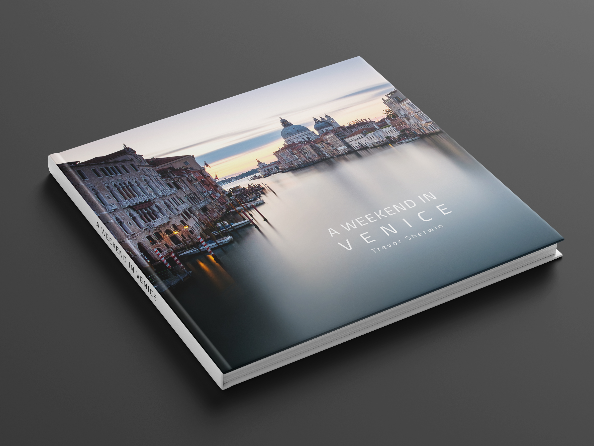 A weekend on Venice photo book cover