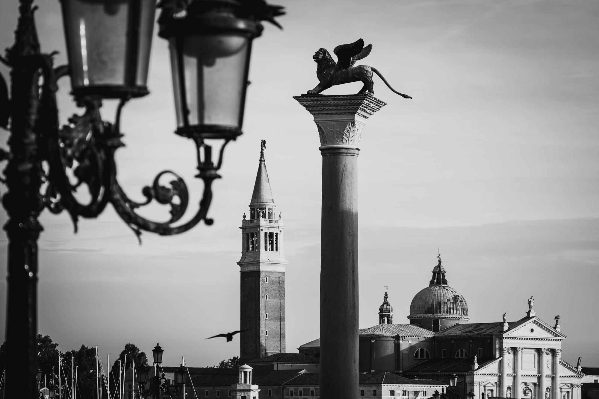 A photo of the Church of San Giorgio Maggiore across the San Marco Basin taken by Trevor Sherwin