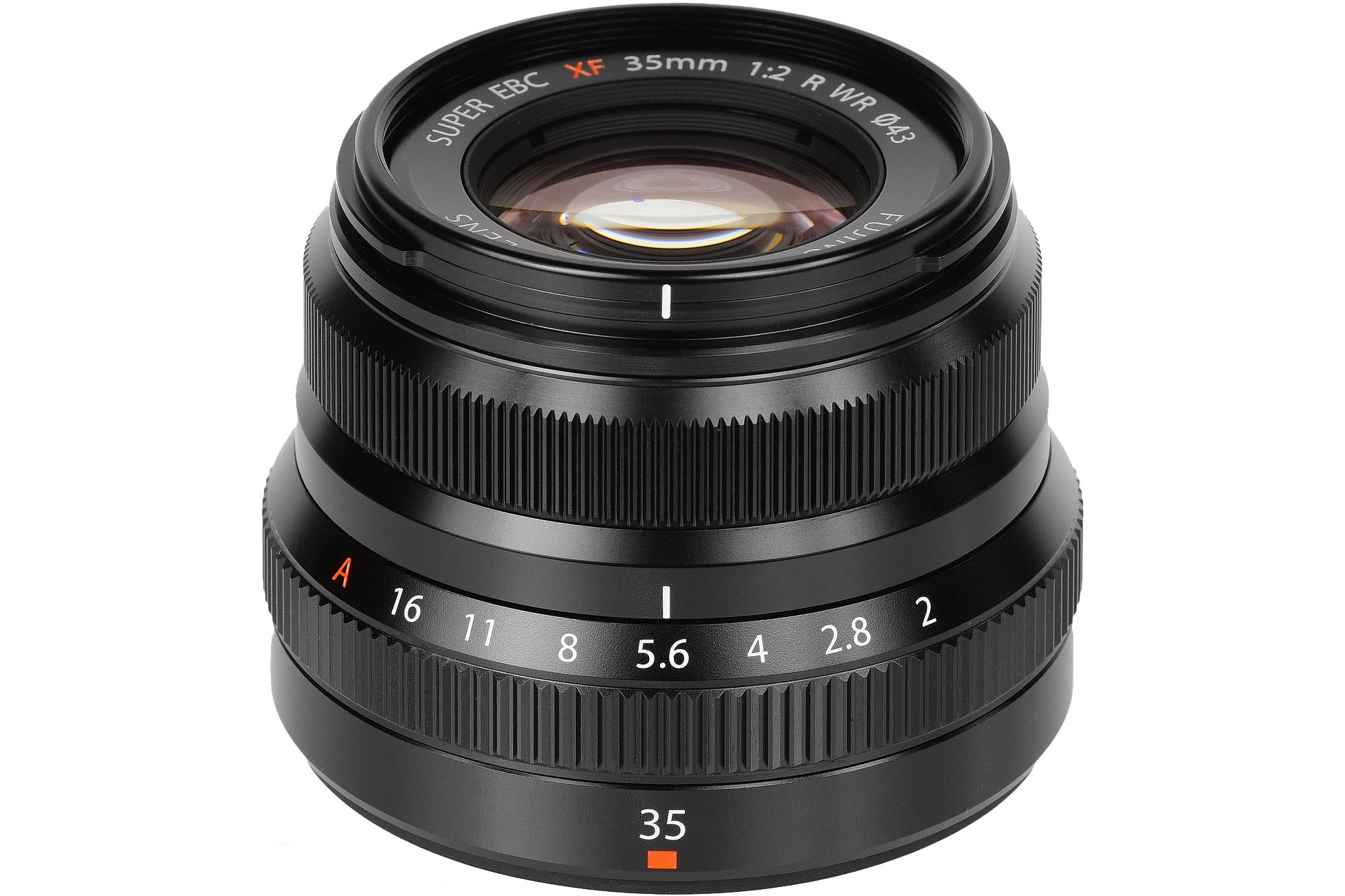 Fujifilm Fuji XF 35mm F2 R WR lens - Black