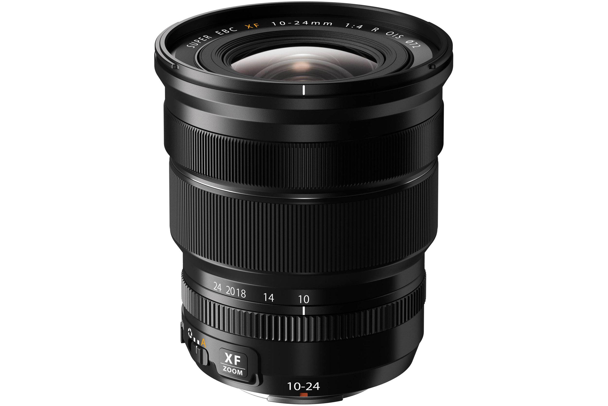 Fujifilm XF 10-24mm lens F4 OIS