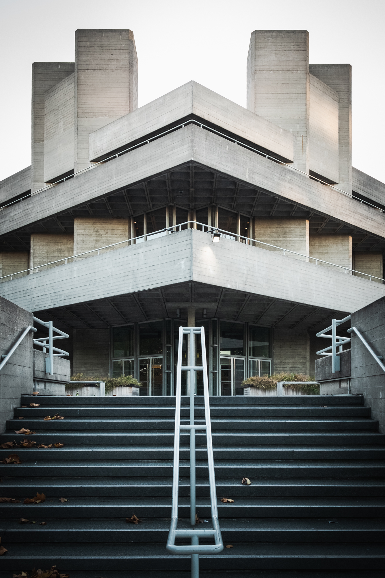 Architecture photo of the National Theatre, London by Trevor Sherwin