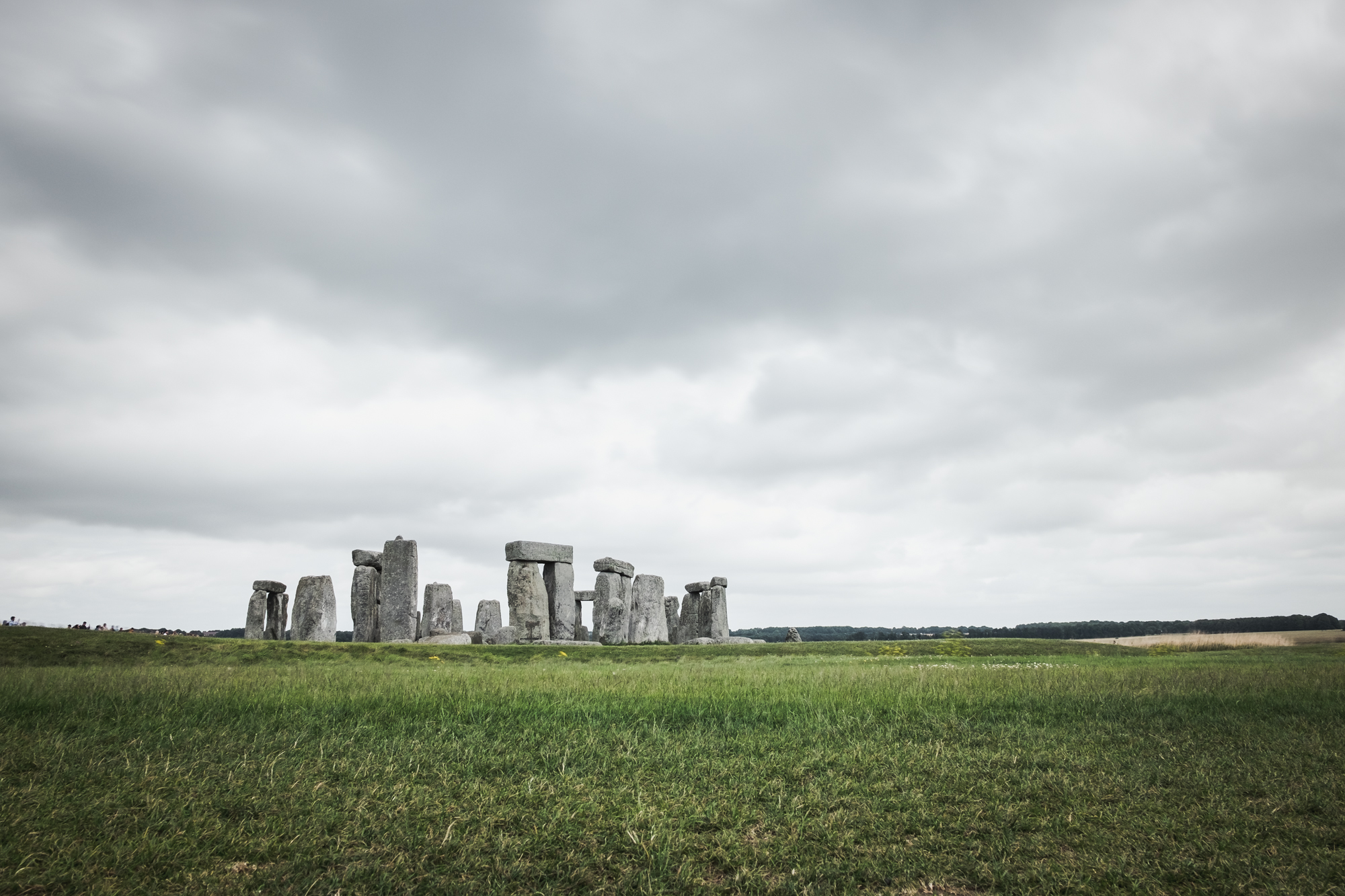 Landscape photo of StoneHenge, UK by Trevor Sherwin
