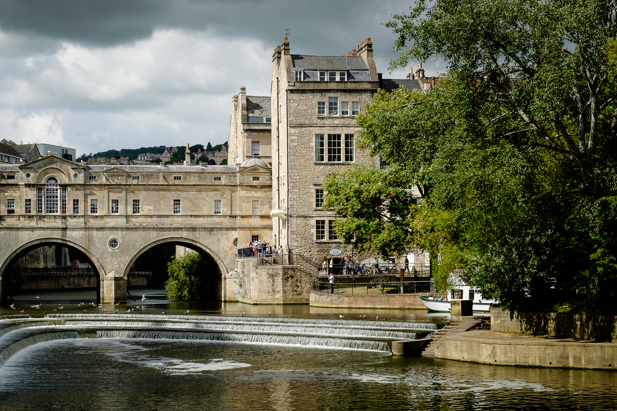 Cityscape photo of Bath, UK by Trevor Sherwin