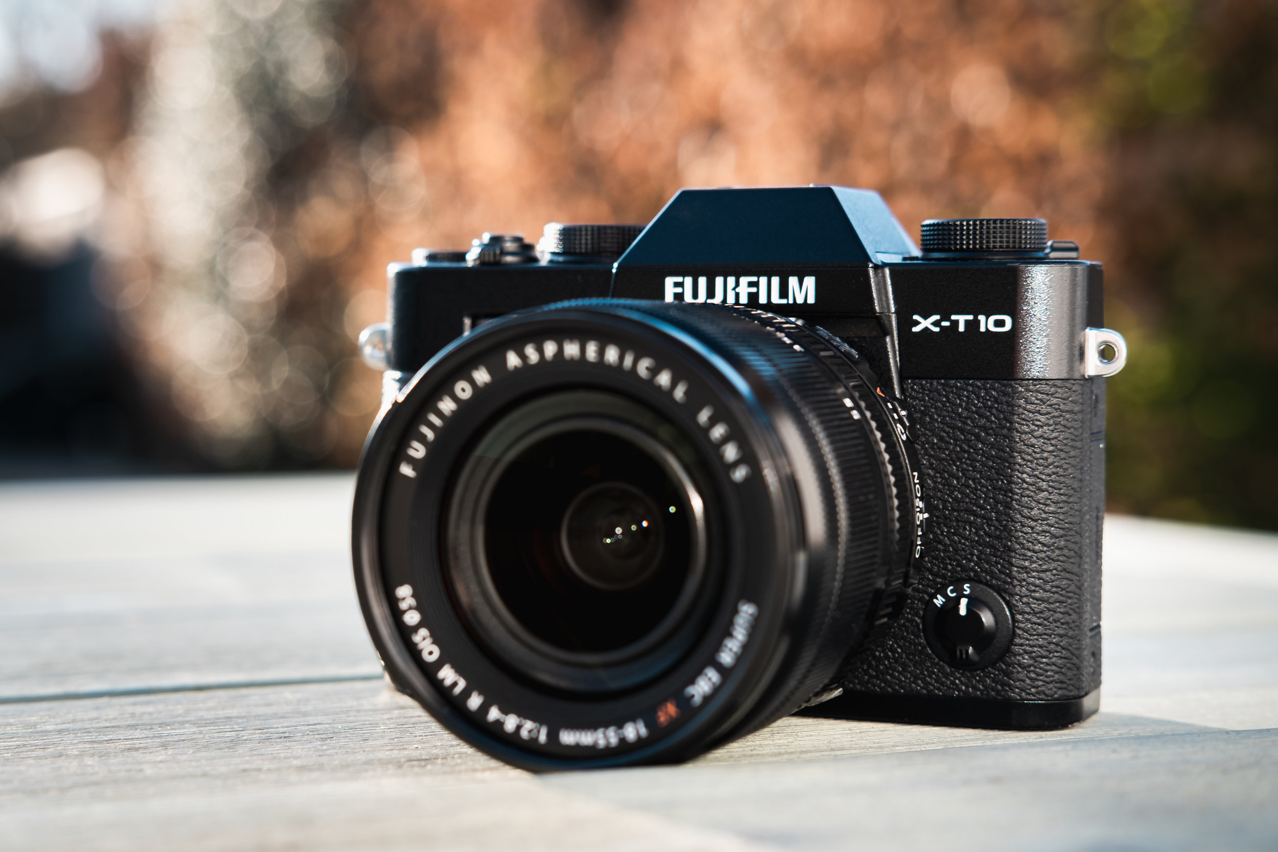 The original combo! My Fujifilm X-T10 Camera and XF18-55mm lens.