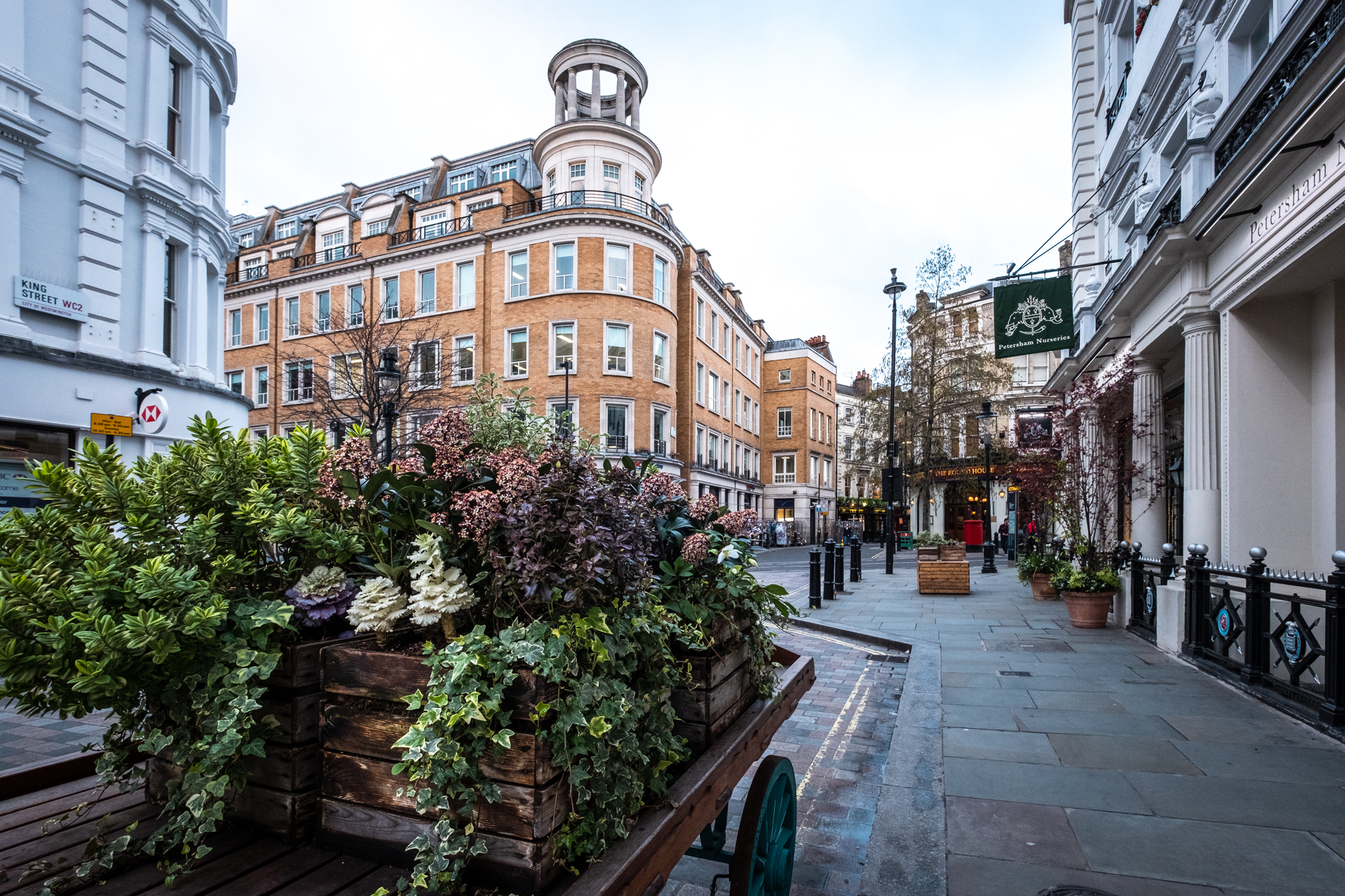A photo of Covent Garden, London taken by Trevor Sherwin