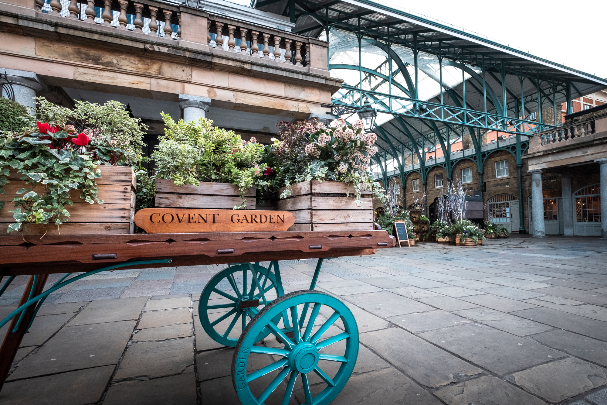 A photo of The Market Building, Covent Garden, London taken by Trevor Sherwin