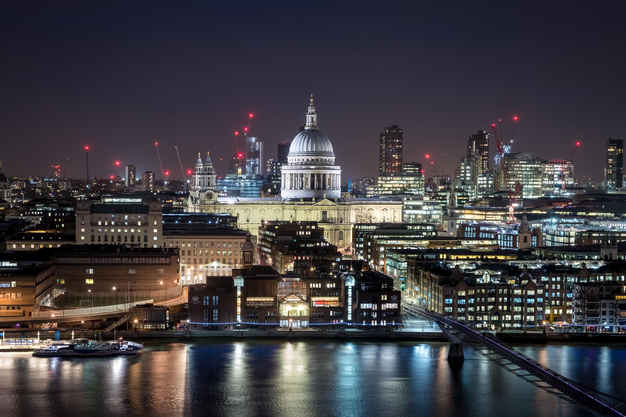 London At Night -