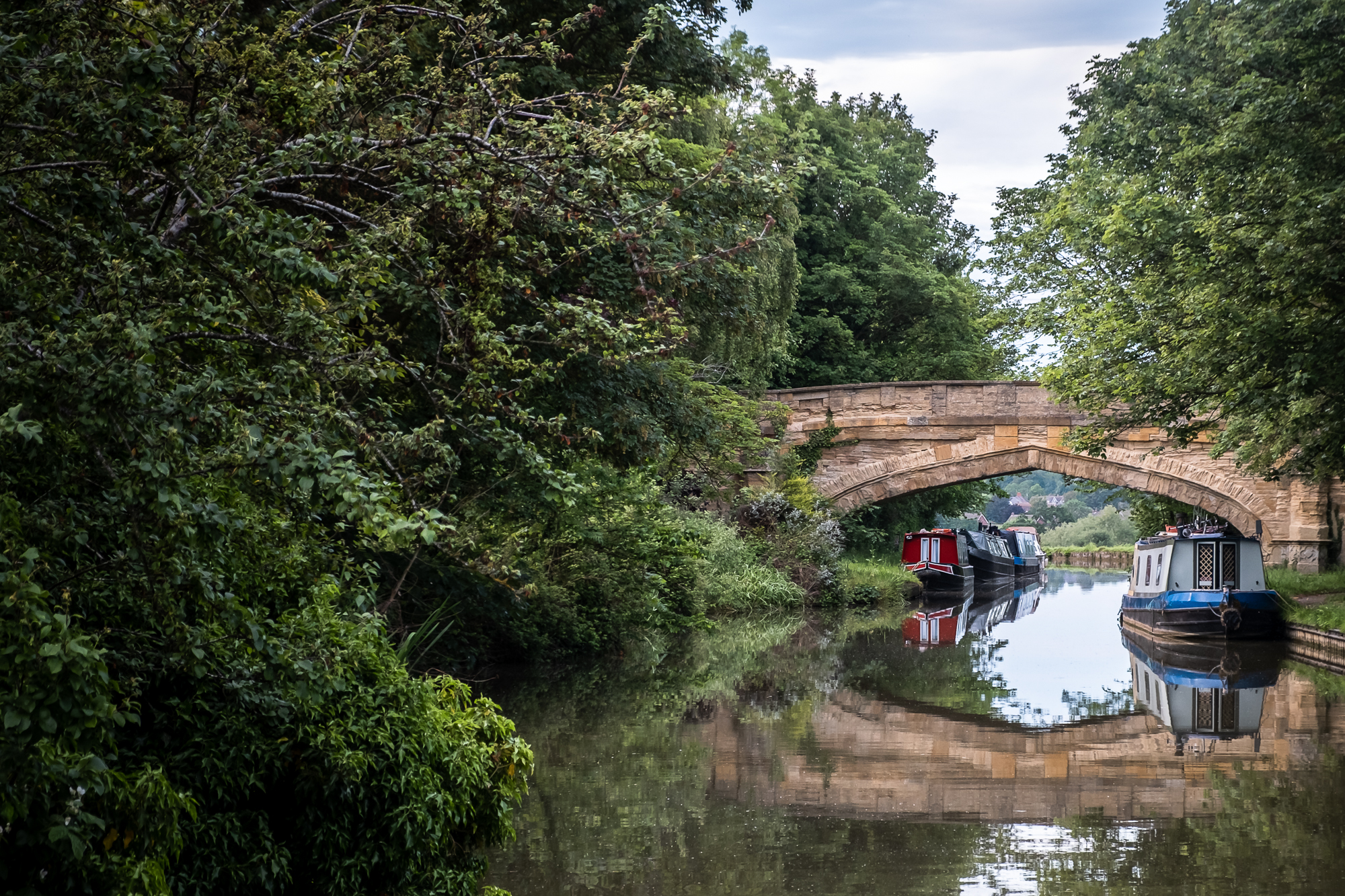 The Grand Union Canal | Fujifilm X-T30 | XF18-55mm | 55mm | 1/250 second | f/2 | ISO500