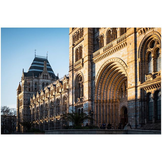 The Natural History Museum, London.