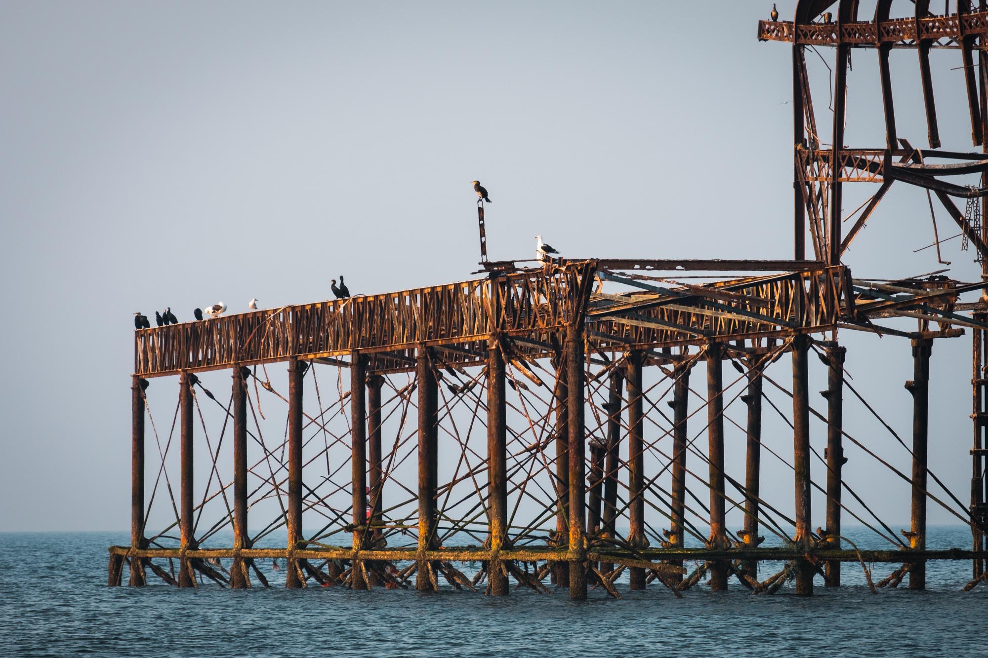 West Pier Structure