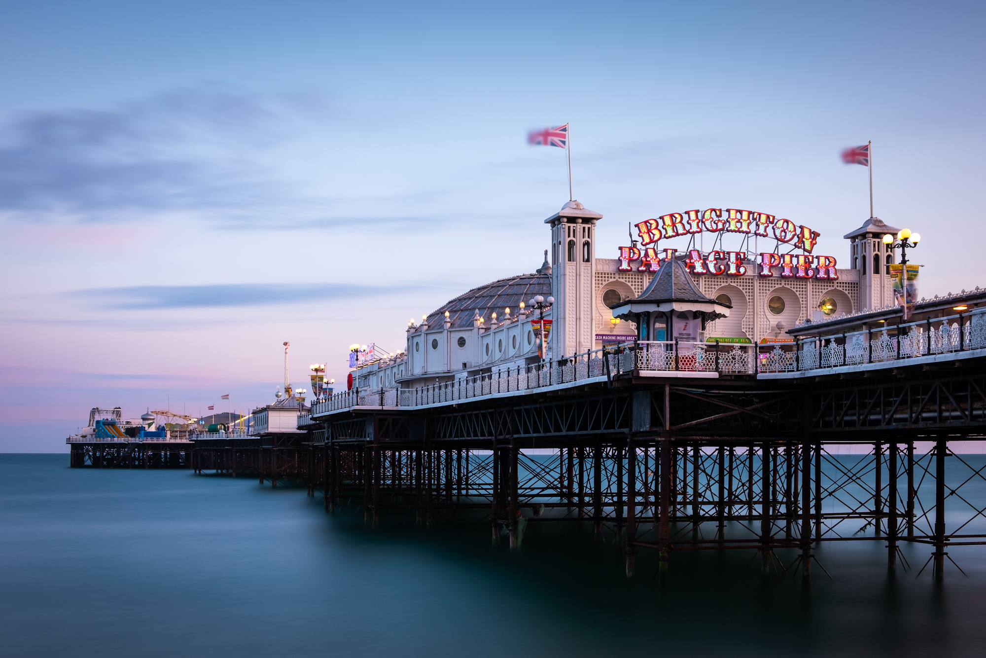 Palace Pier | Fujifilm XT2 | XF18-55mm | 28mm | 181 seconds | f/9 | ISO200