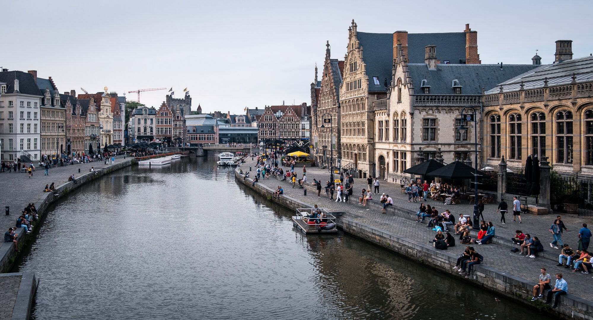 The city of Ghent | Fujifilm XT-30 | XF18-55mm | 18mm | 1/640 Second | f/2.8 | ISO160