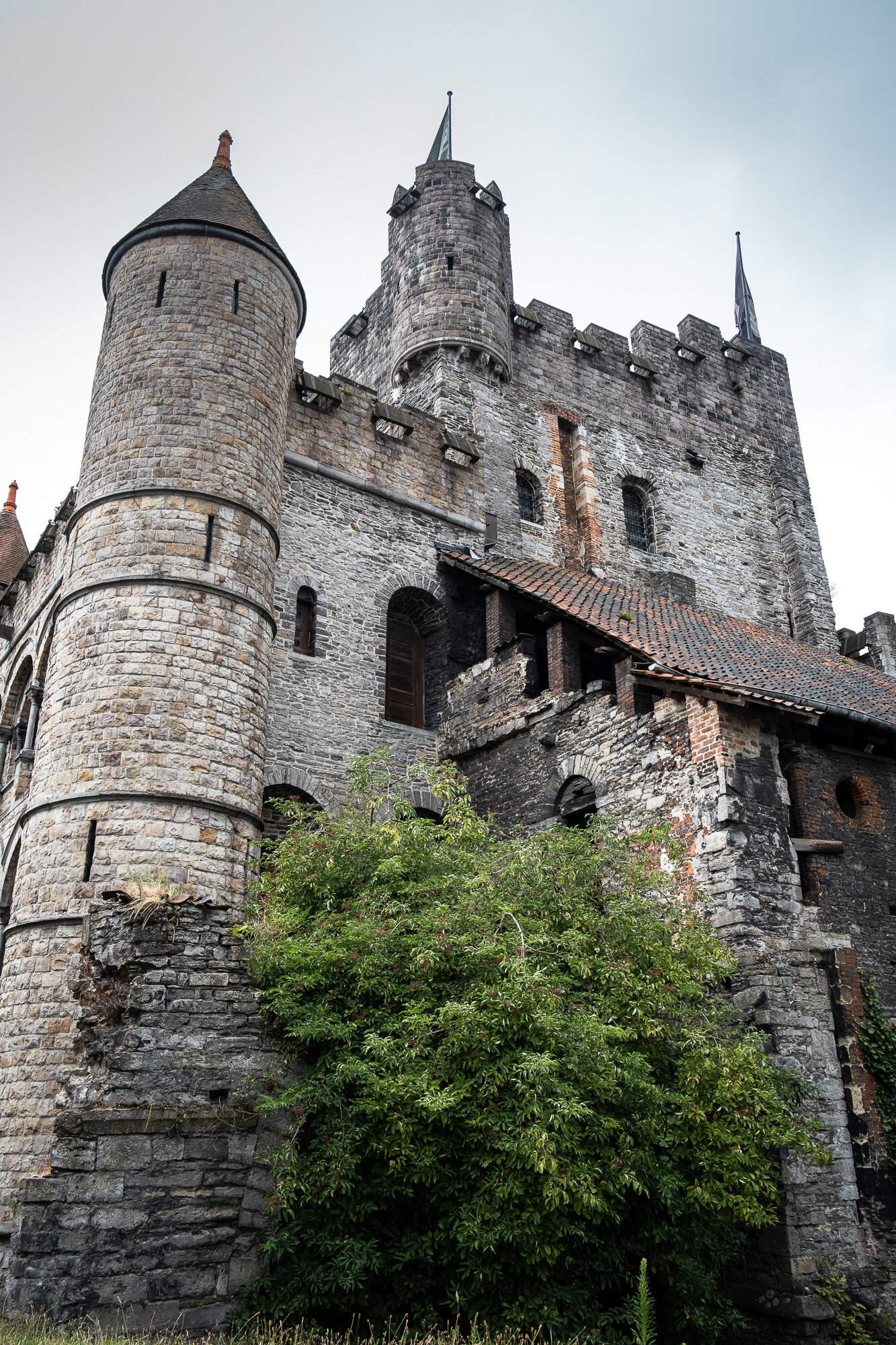 The Gravensteen inner Castle