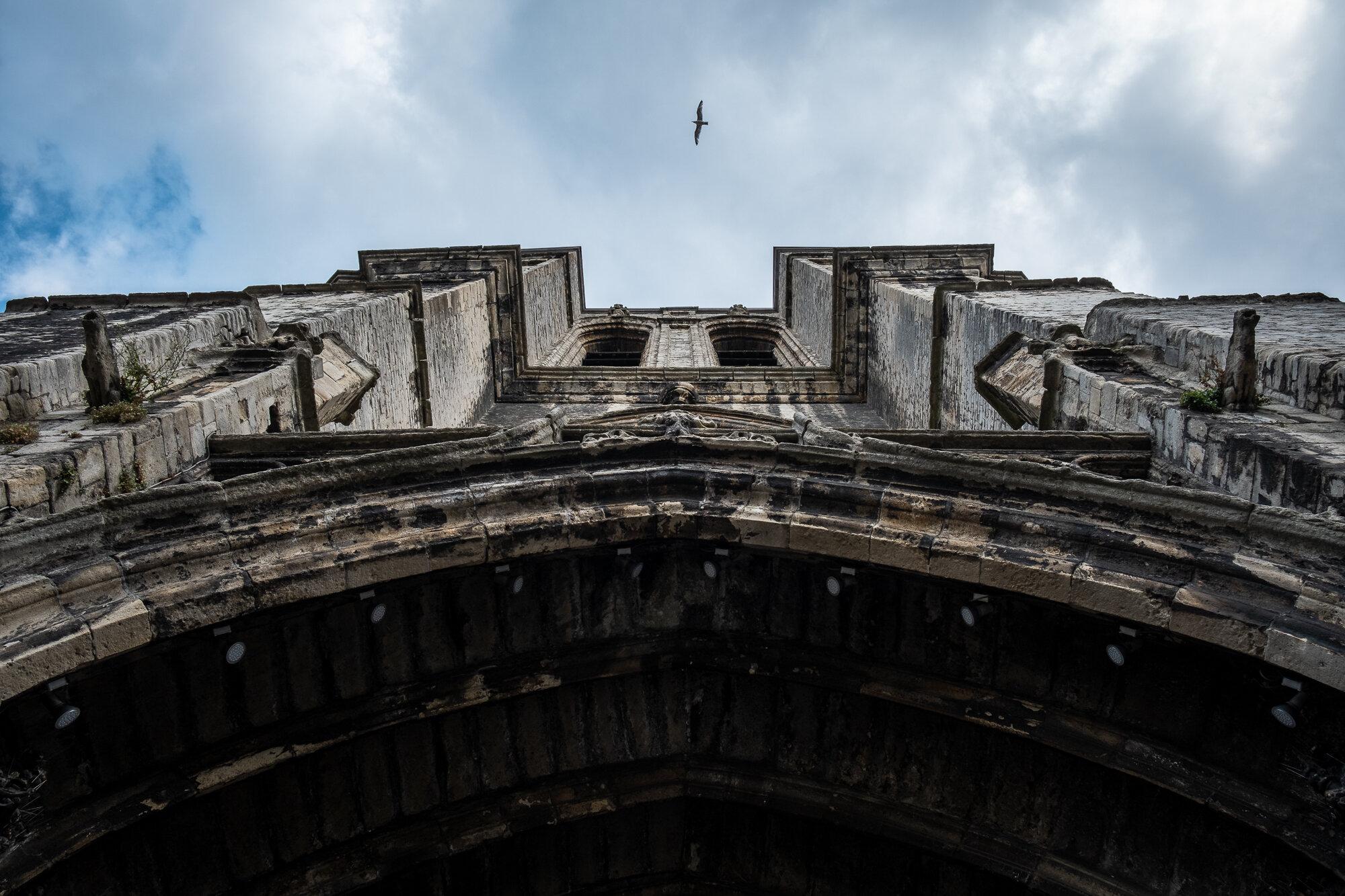 Saint Michael's Church's arched entrance