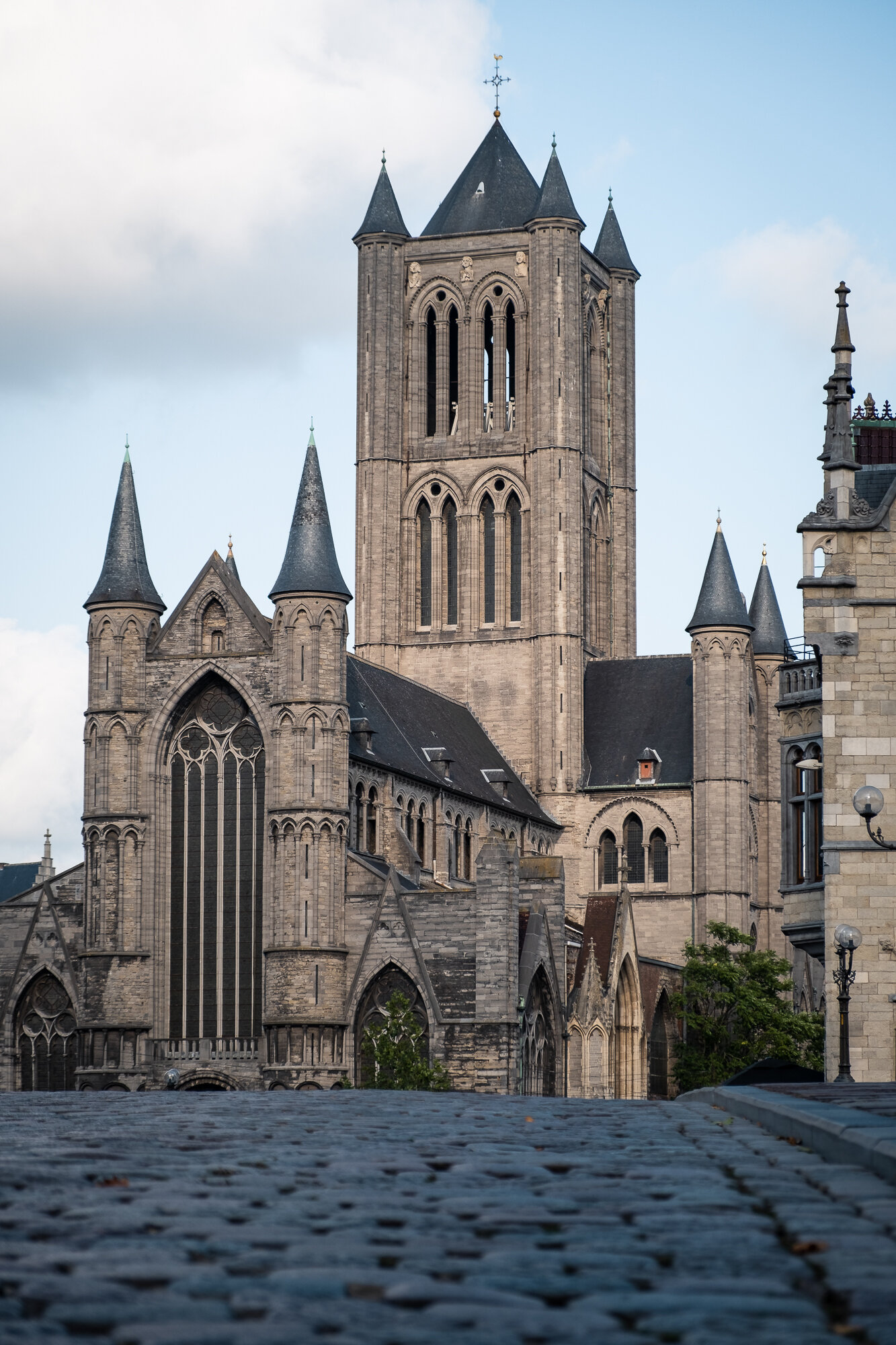 St. Nicholas' Church from Saint Michael's Bridge