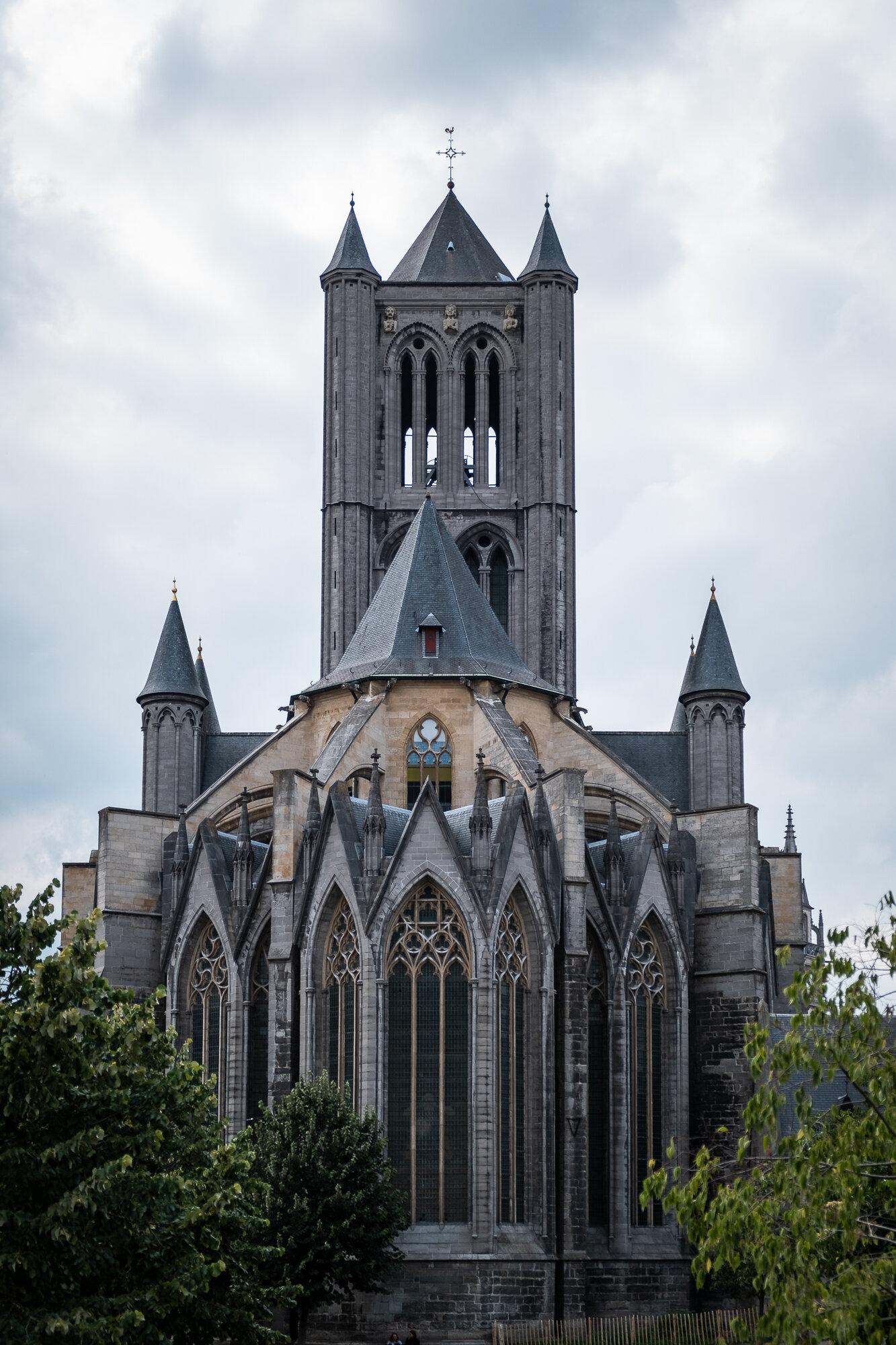 St. Nicholas' Church from the rear