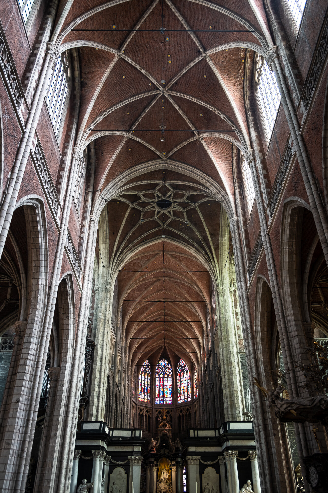 Saint Bavo Cathedral's incredible interior architecture