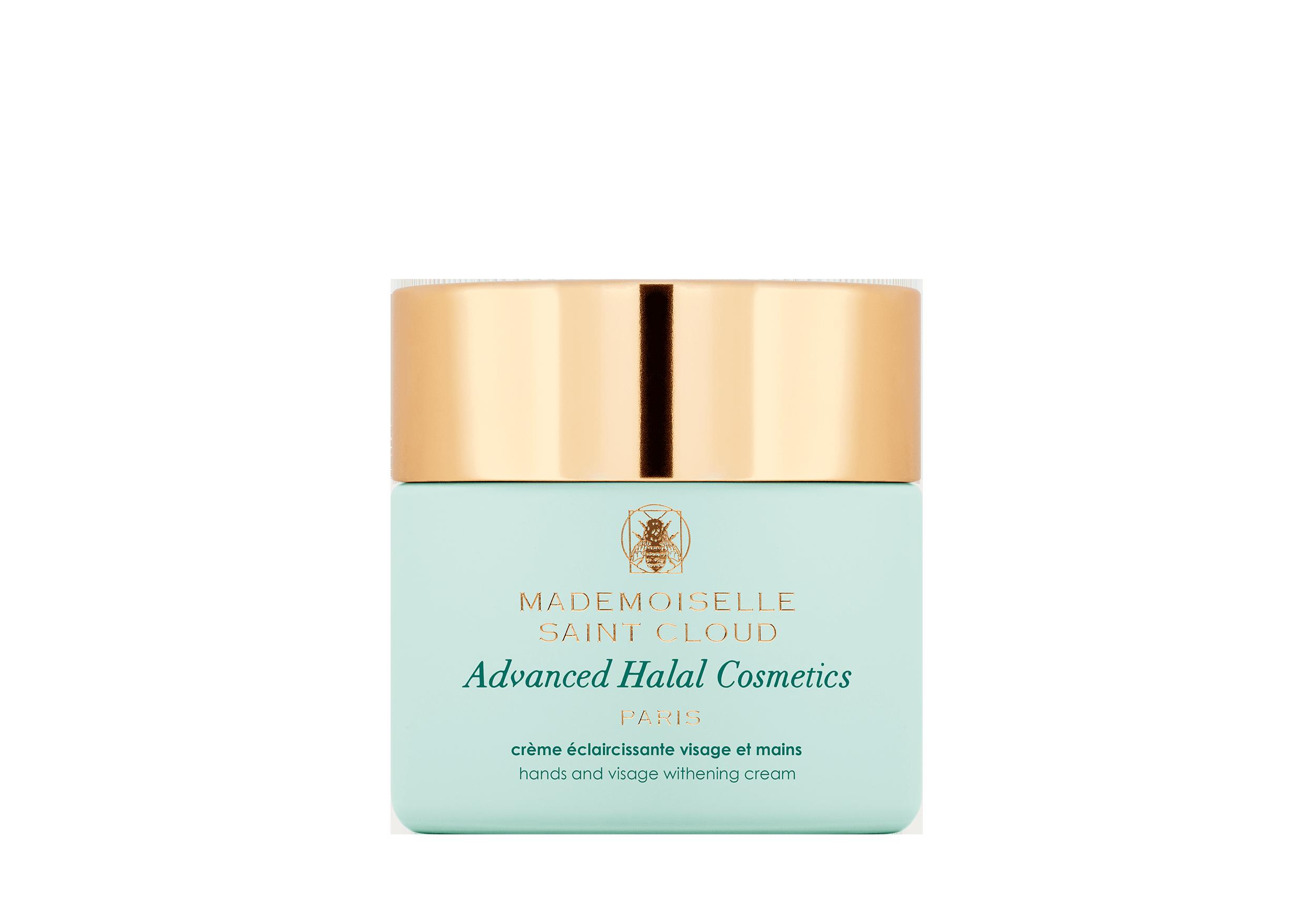 MademoiselleStCloud Crème éclaircissante visage et mains