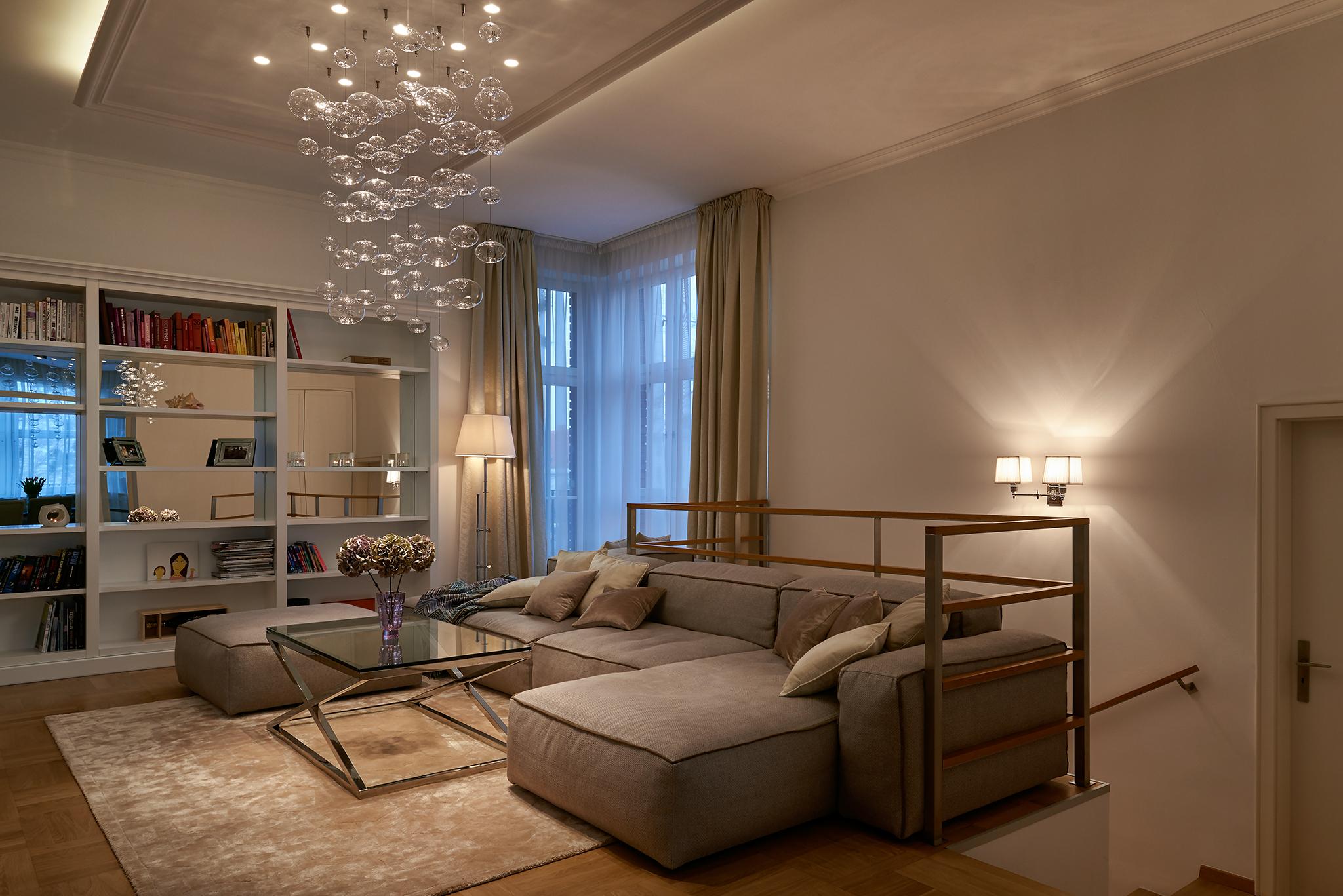 Modern interior in Stresovice