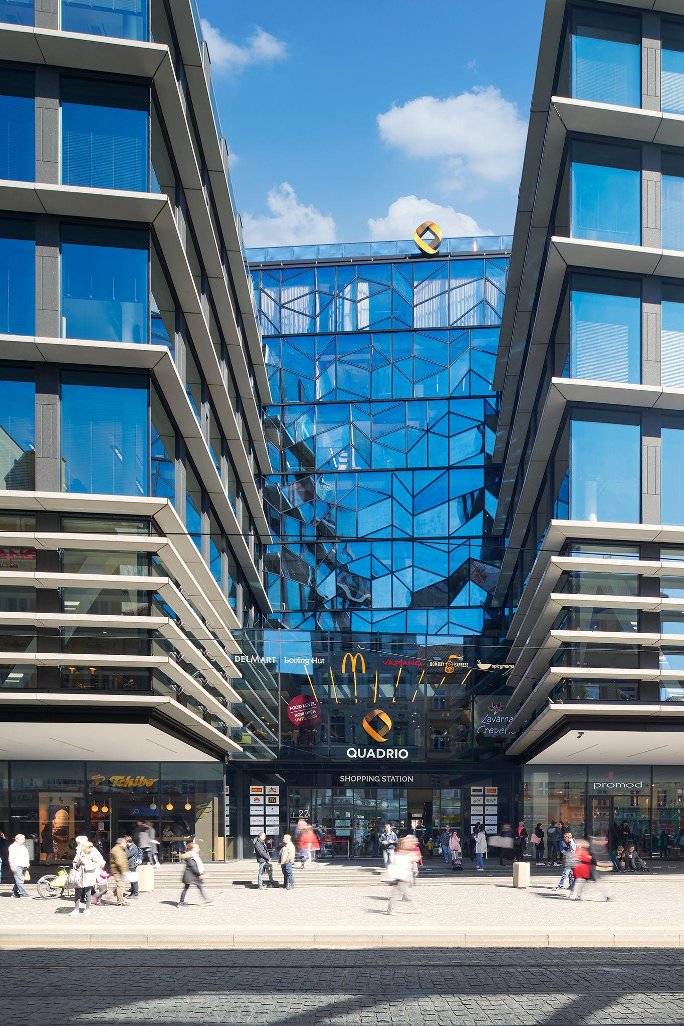 Quadrio business centre Praha
