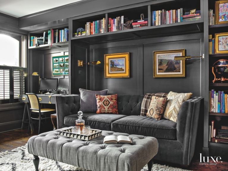- CHALLENGE A lack of large closets and/or storage space.SOLUTION Use that party wall to build in shelving and surround the social area. Make it dramatic!