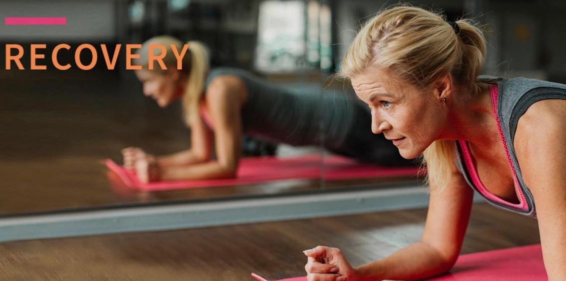 Workout for recovering from a hysterectomy or managing a pelvic organ prolapse