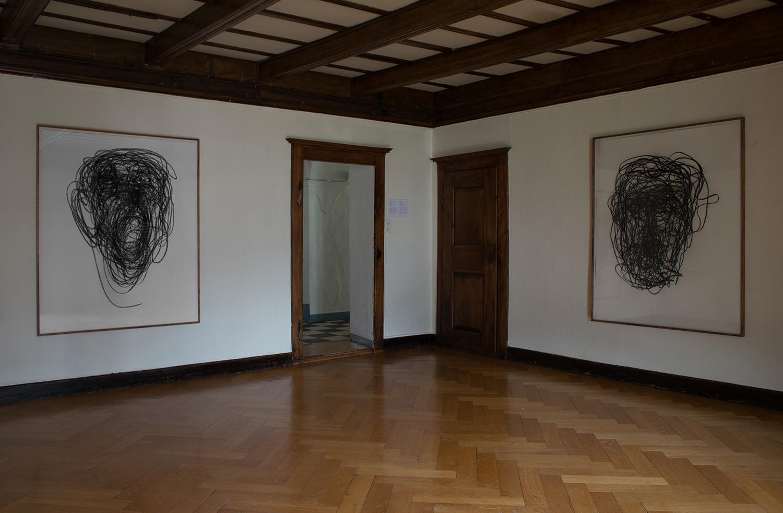 ' o o o ', exhibition shot, Le Manoir de la Ville Martigny, 2017