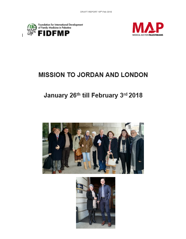 Missions to Jordan and London