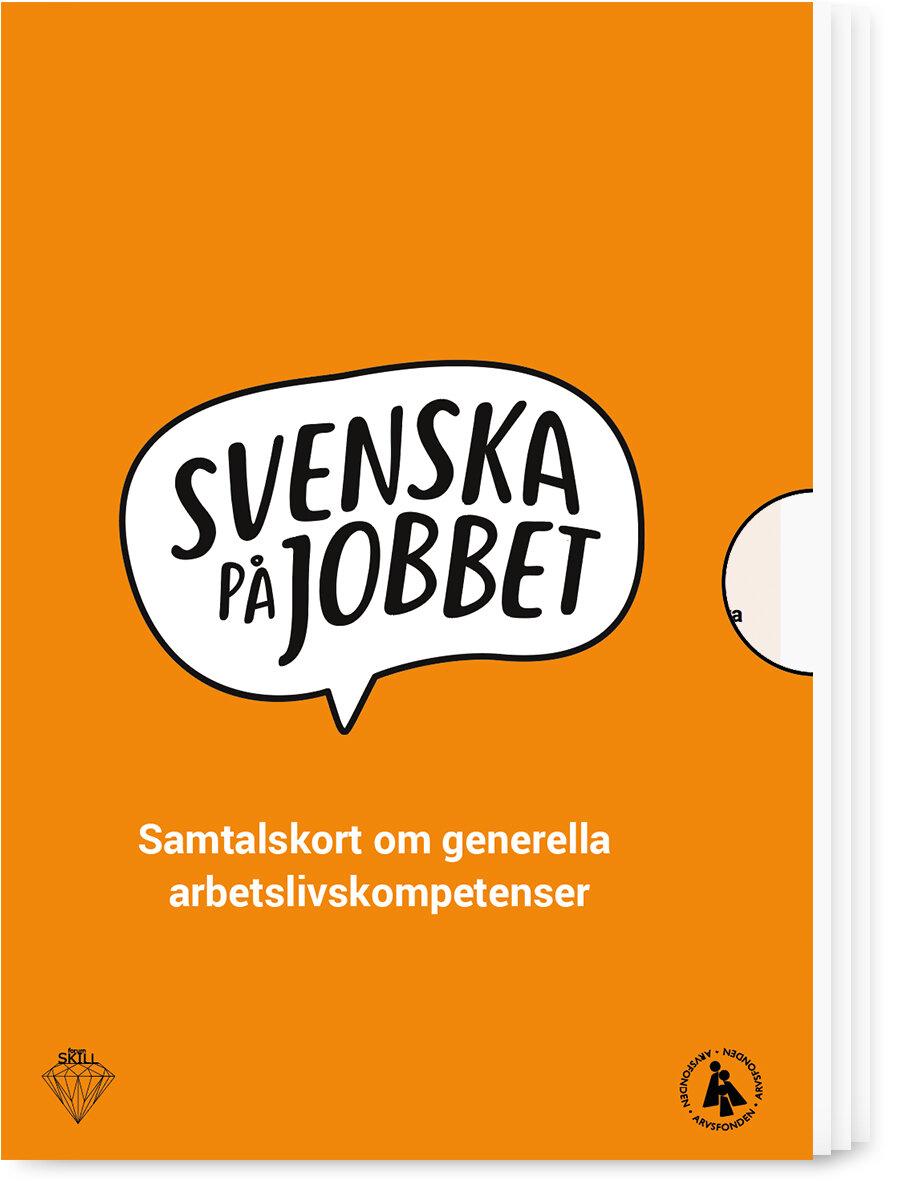 Samtalskort - 95 krSvenska på jobbets samtalskort utgår från 13 generella arbetslivskompetenser som är viktiga för att kunna få och behålla ett jobb.
