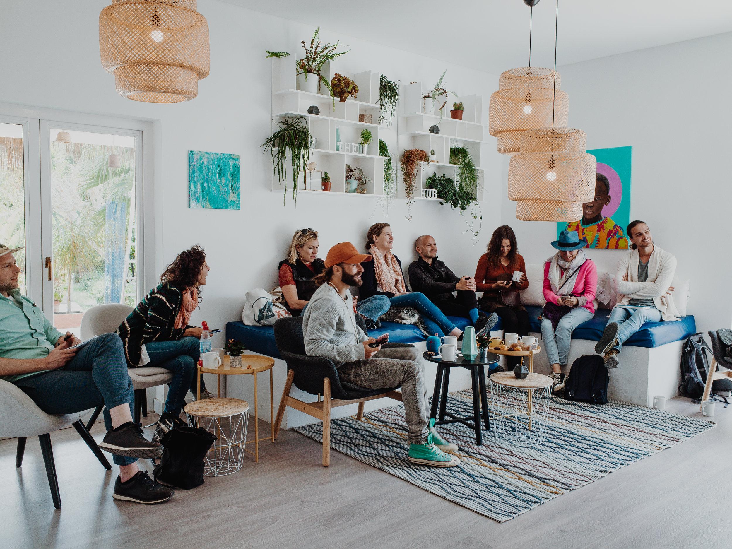 "OUR FREE TASTER TALK ""IS IT THE RIGHT TIME TO START YOUR OWN PODCAST SERIES"" IN MARCH AT CO WORKING SPACE - THE HUB - IBIZA. MAIL US TO BOOK YOURS: JO@RESETREBELPRODUCTIONS"