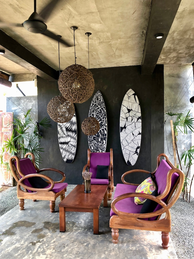 I could spend hours chilling here... Good Spa Weligama, 2018. Photo © Szilvia Molnár