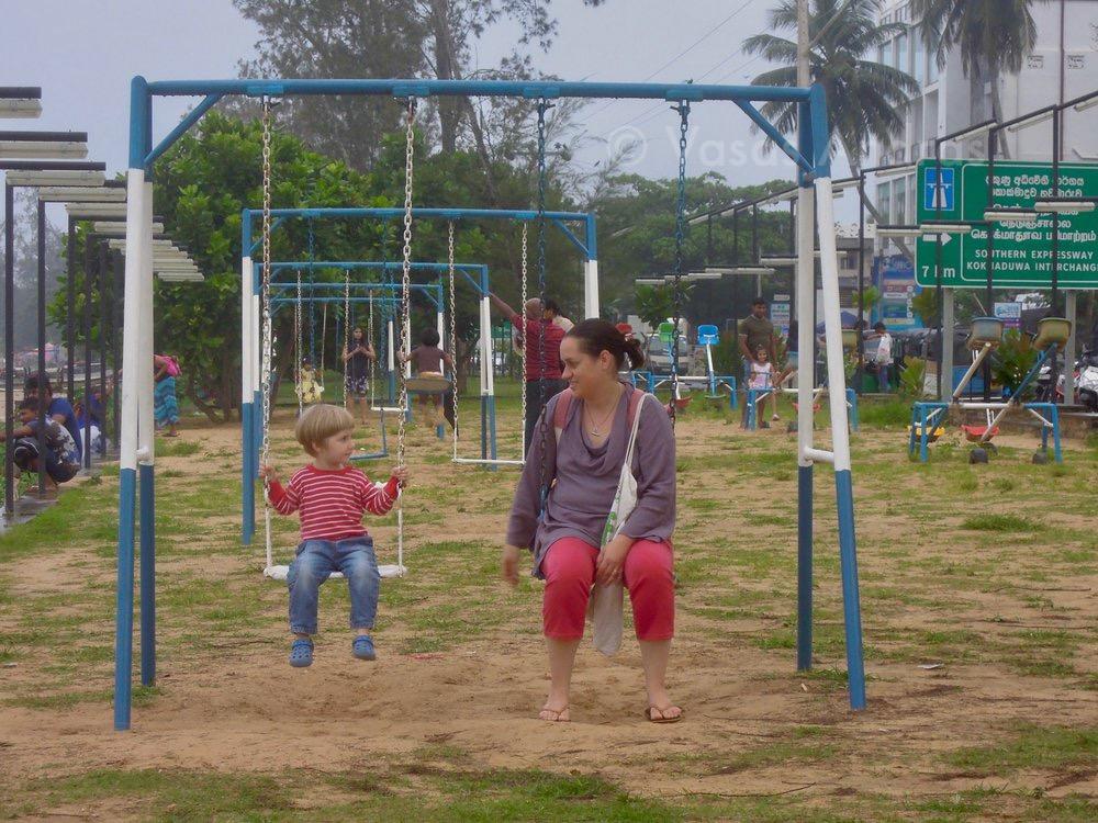 Játszótér, Weligama, Srí Lanka